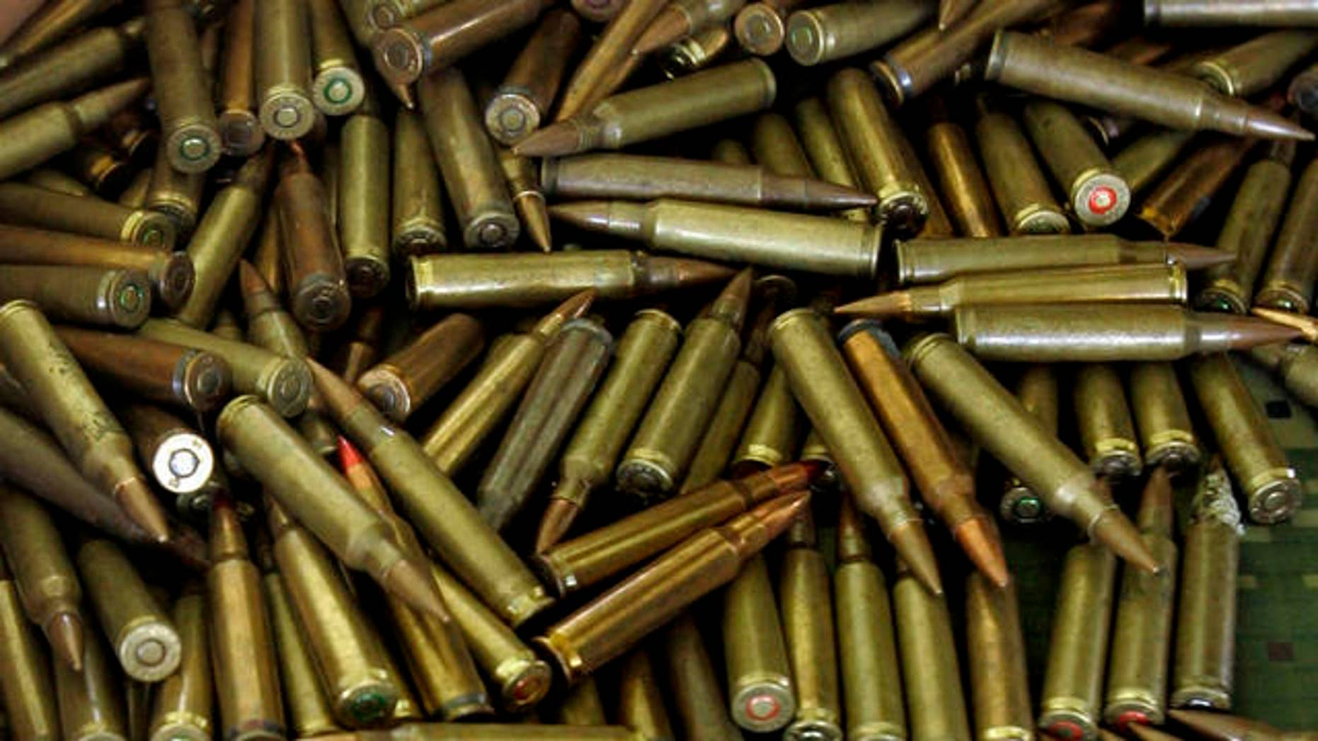 Ammunition retailers can't keep up with government and public demand. (AP Photo/Christian Escobar Mora)