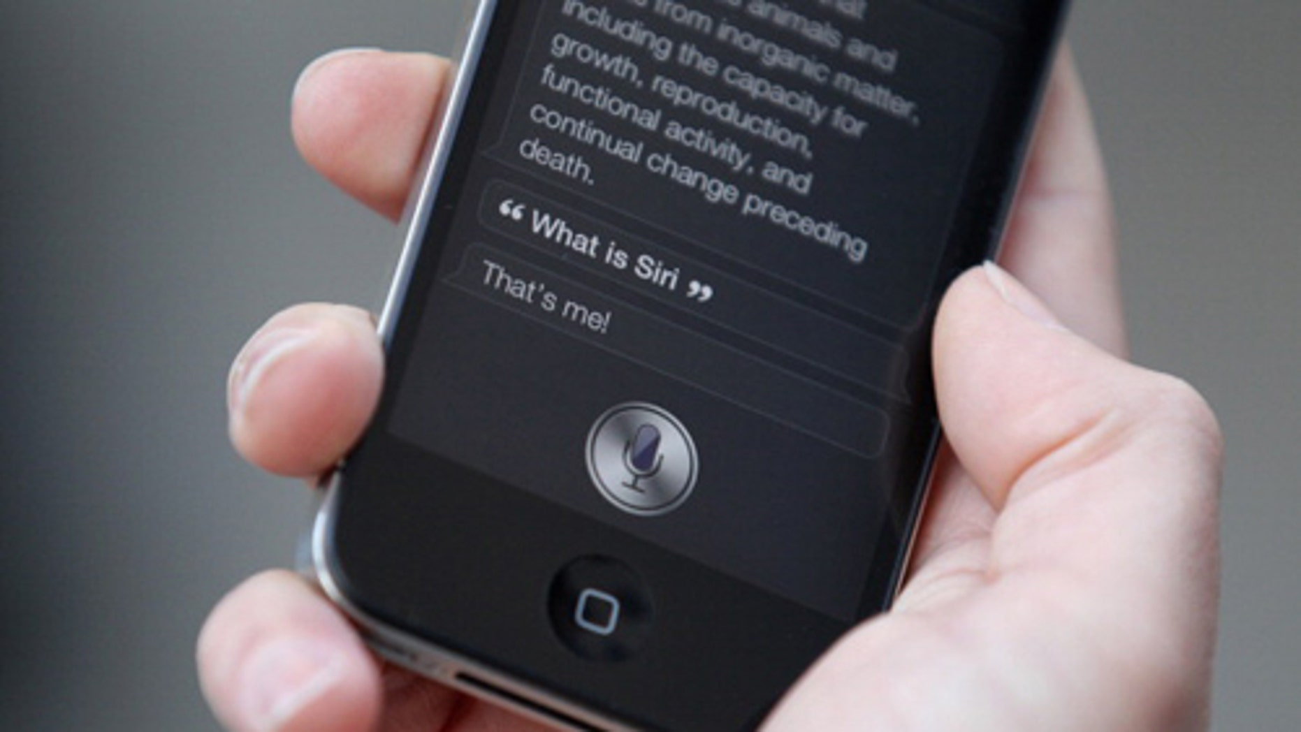 A call placed by Siri saved a man who was trapped beneath a truck.