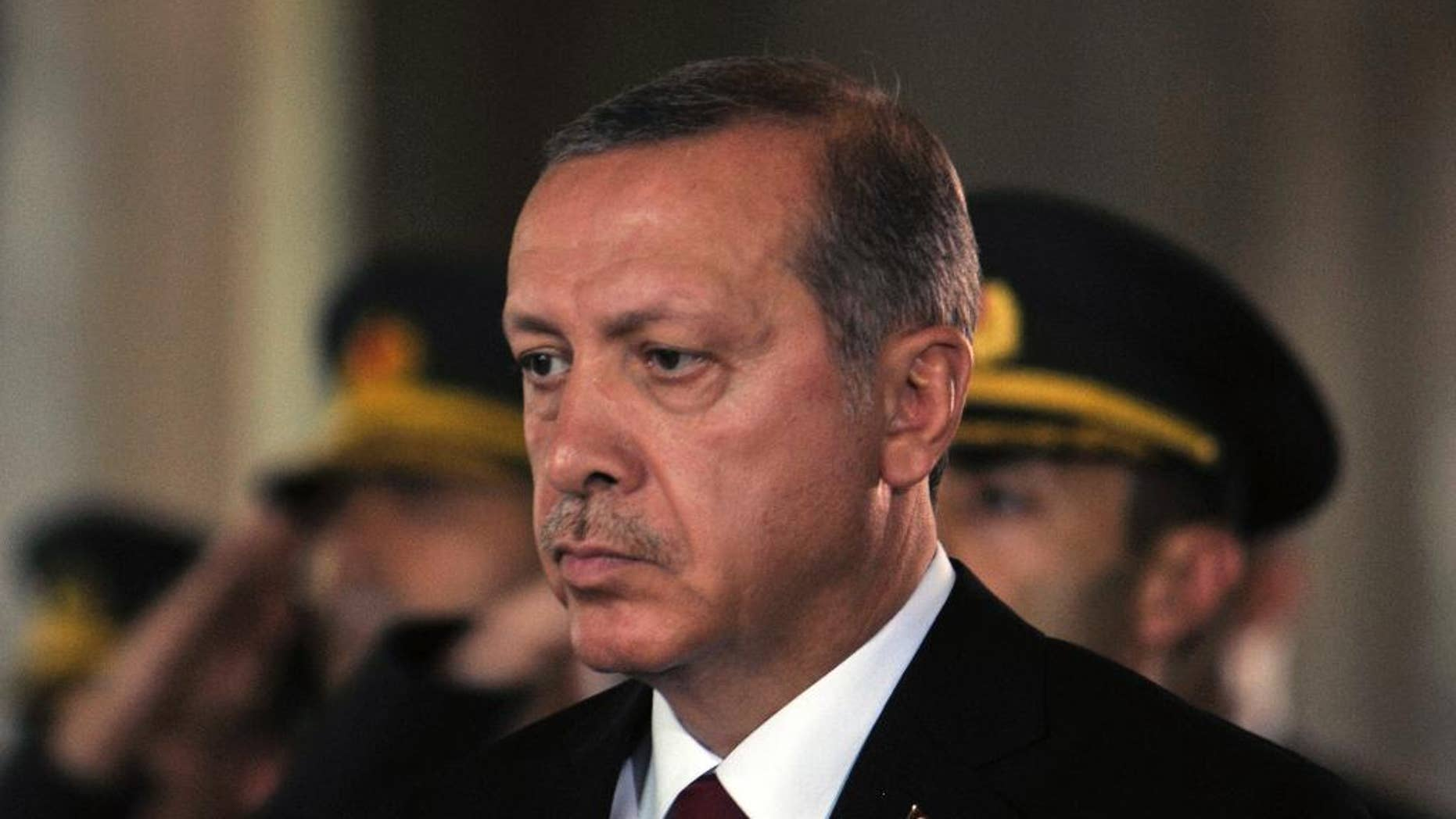 Turkish President Recep Tayyip Erdogan may welcome Muslim Brotherhood leaders, after they were kicked out of Qatar. (AP Photo)