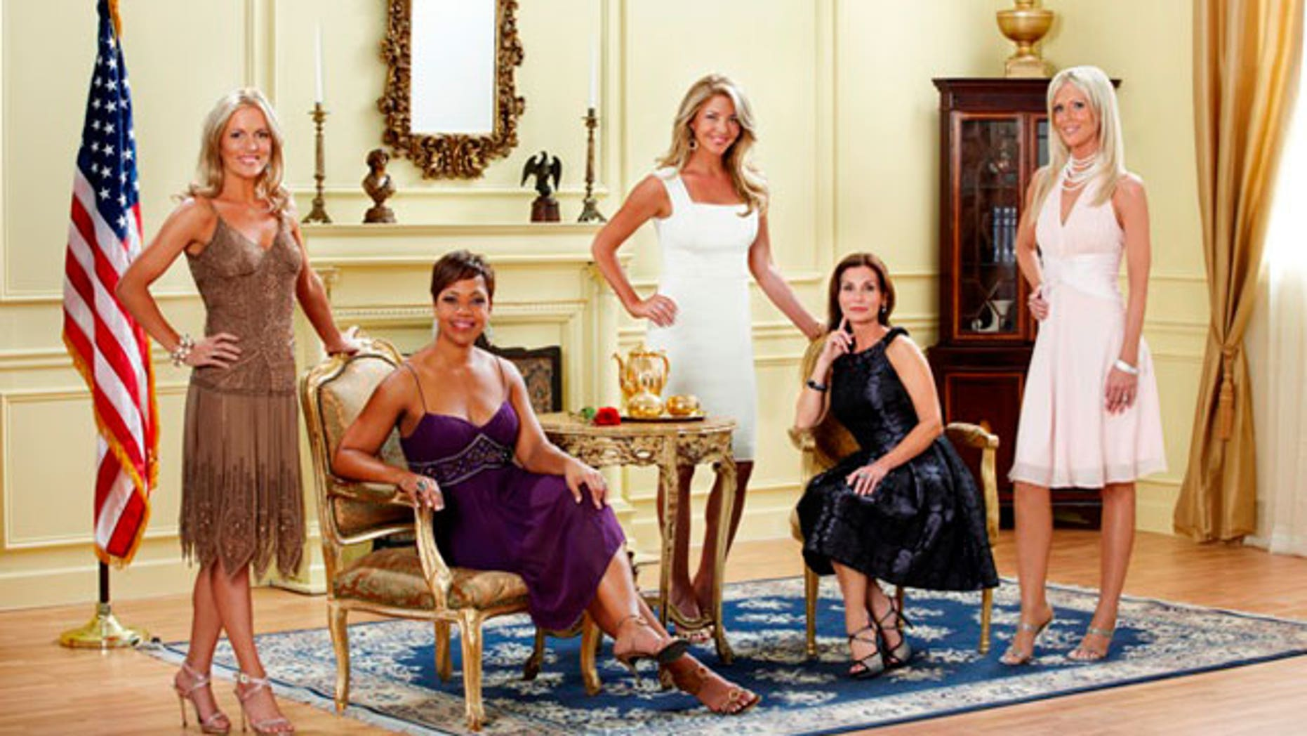 "The cast of Bravo's ""The Real Housewives of D.C."""