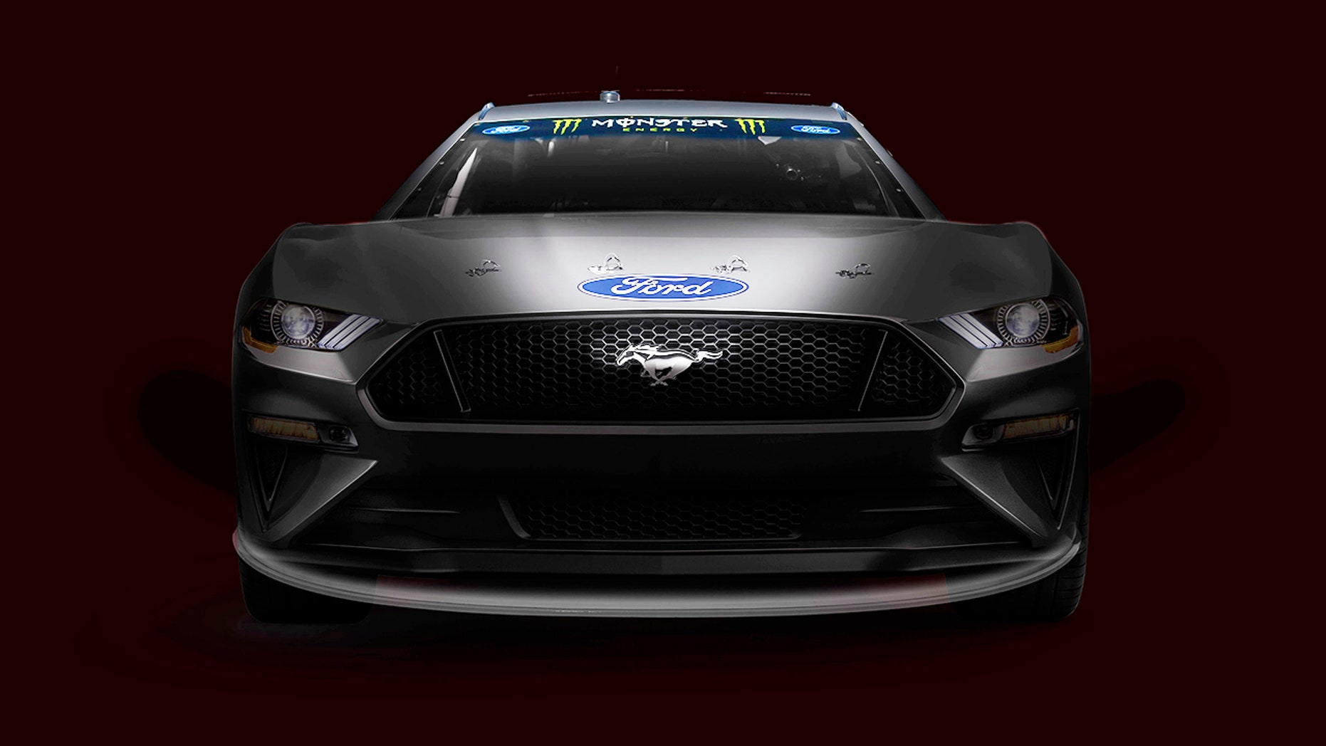 Building off its popularity ford also is announcing mustang is coming to the nascar monster