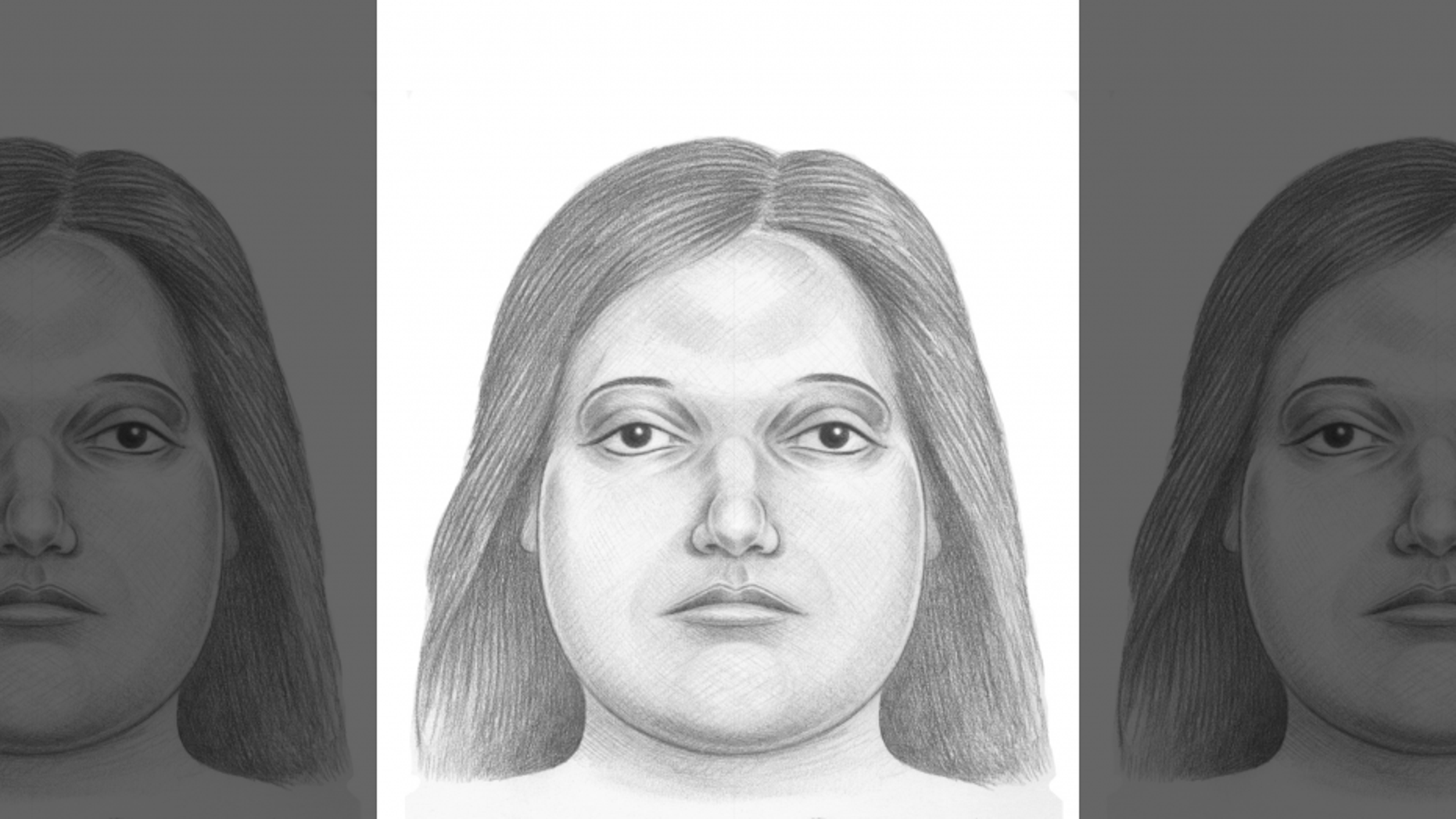 The New York City Police Department released the sketch of a woman whose body was found in bags at a park in the Bronx on Friday.