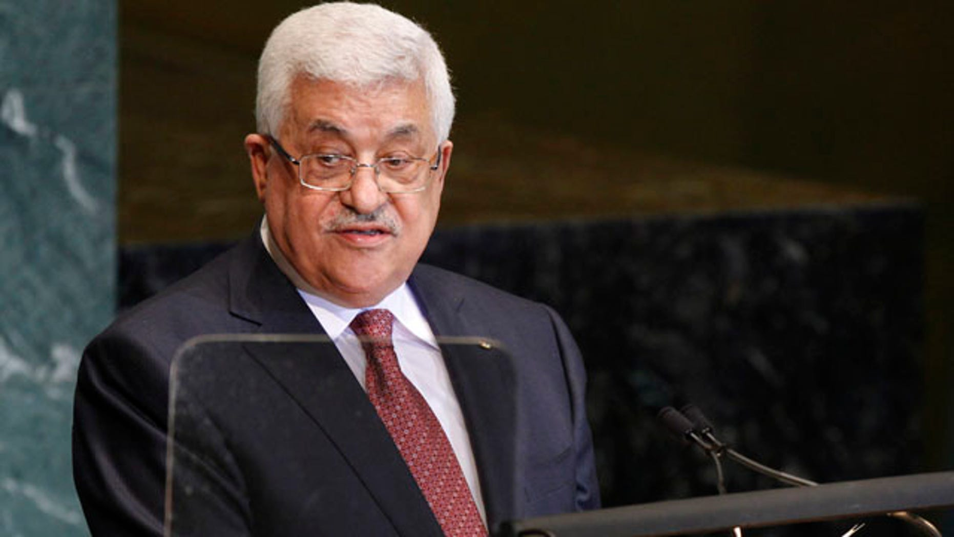 Sept. 25: Mahmoud Abbas, President of the Palestinian Authority, addresses the 65th session of the United Nations General Assembly at United Nations headquarters.