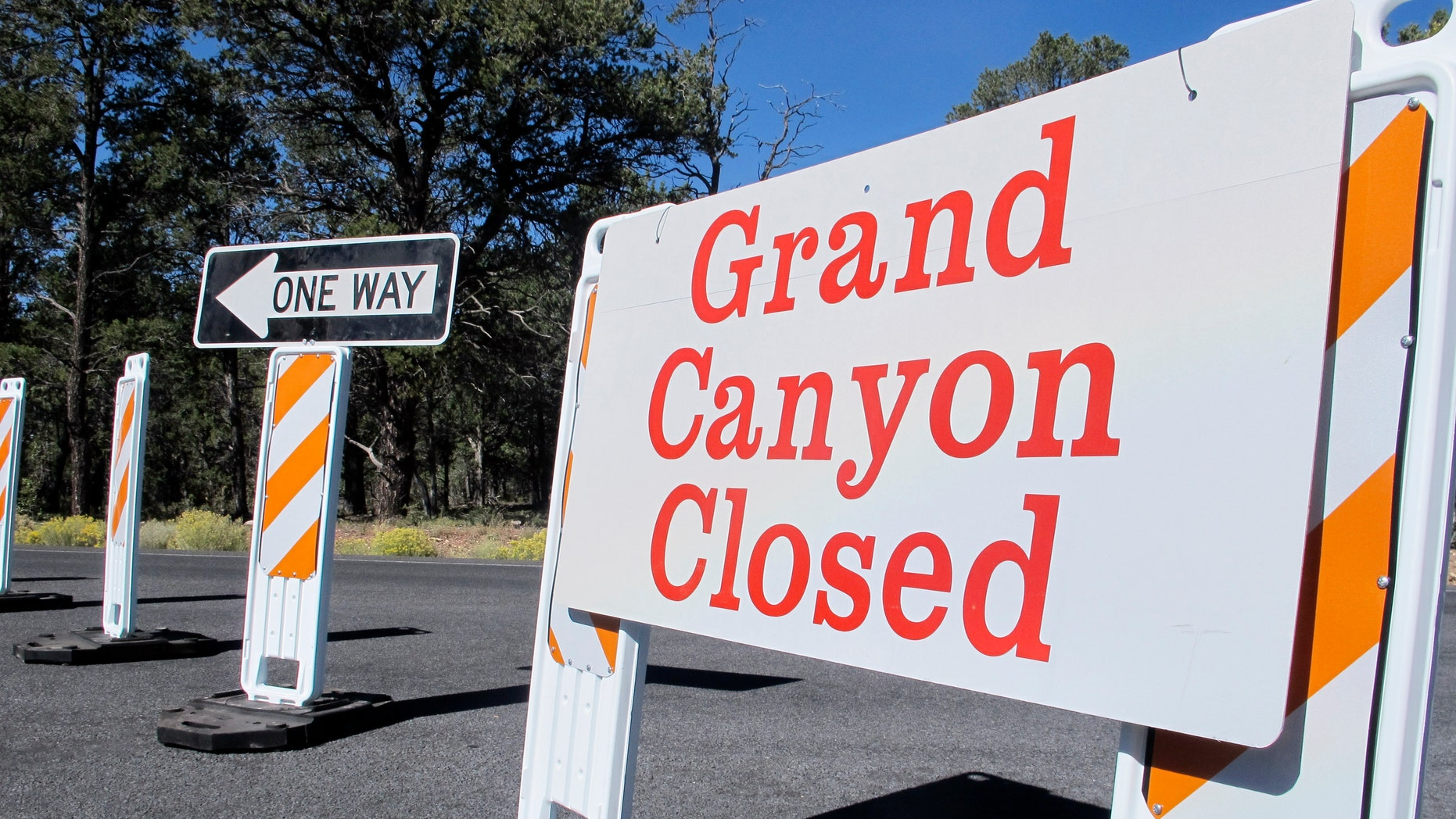 Many national parks closed because of the shutdown. Several governors, including Ariz. Gov. Jan Brewer, asked to reopen their parks because of the great loss of tourism money caused by their closing.