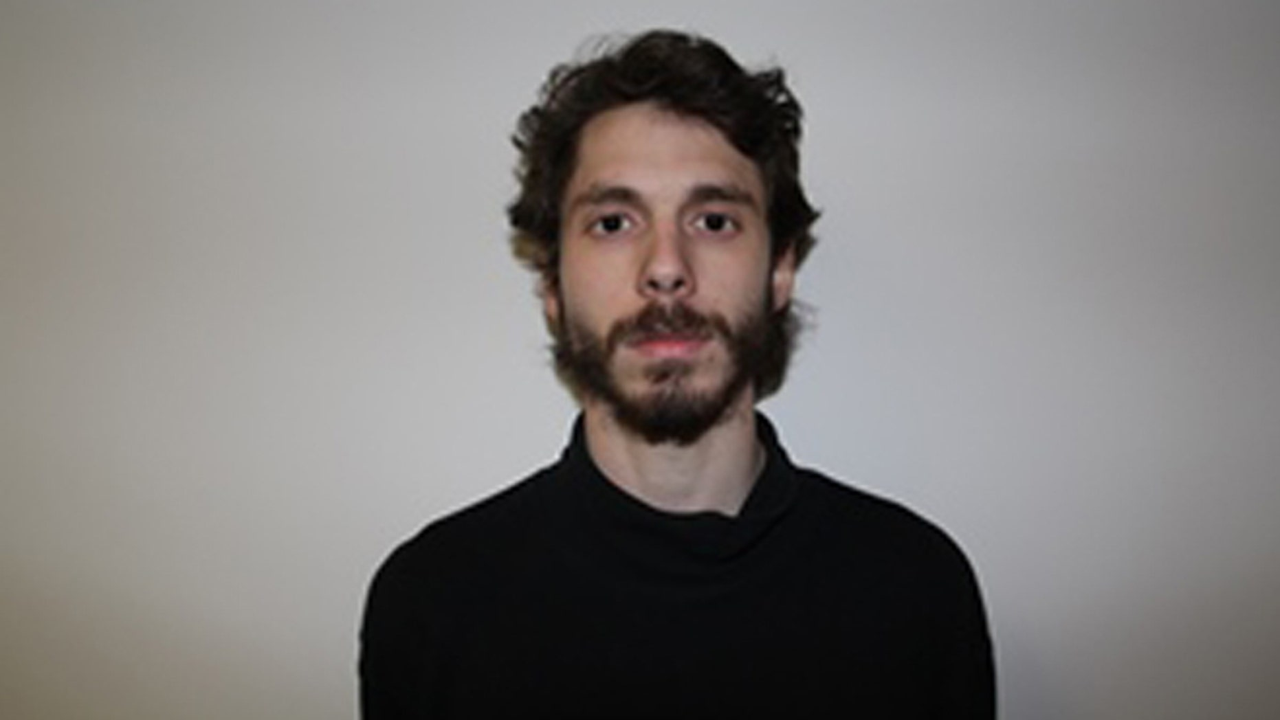 This image provided by the Middletown Police Department shows Eric Lonergan  of Rio de Janeiro. Lonergan is accused of possessing a controlled substance and illegally obtaining or supplying drugs. Lonergan was one of four Wesleyan University students arrested Tuesday Feb. 24, 2015 in connection with about a dozen hospitalizations among people who took a party drug known as Molly. (AP Photo/Middletown Police Department)