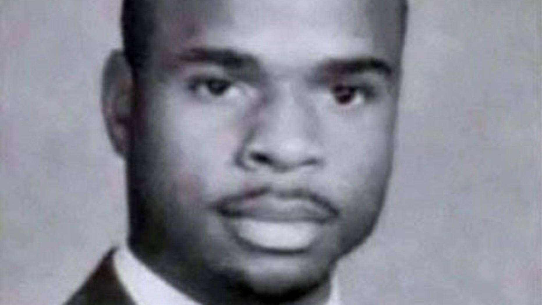 Sharif Mobley, 26, is seen here in a 2002 yearbook photo from Buena Regional High School in New Jersey.