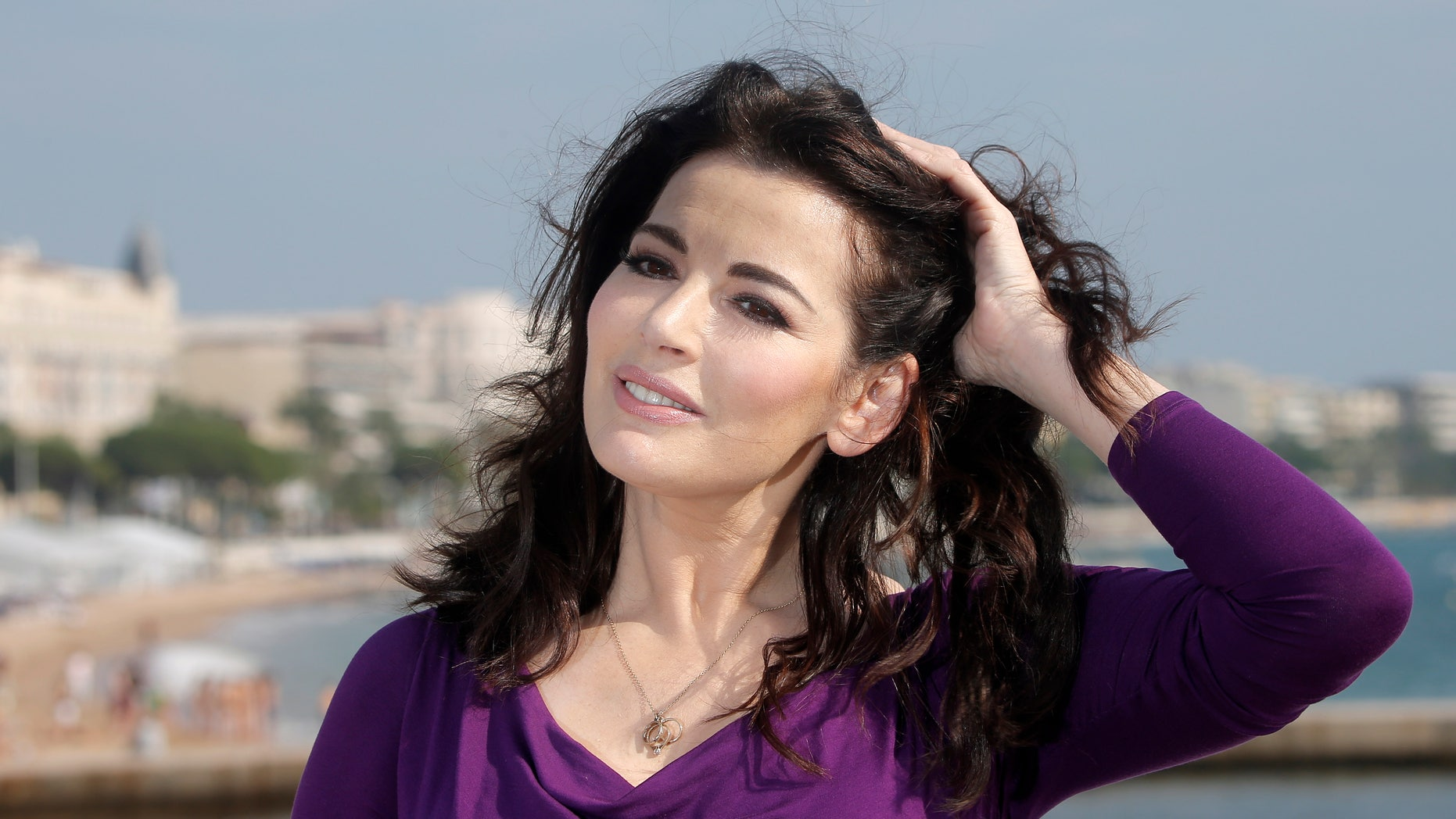 Oct. 9, 2012 - FILE photo, English food writer, journalist and broadcaster, Nigella Lawson poses in Cannes, southeastern France.