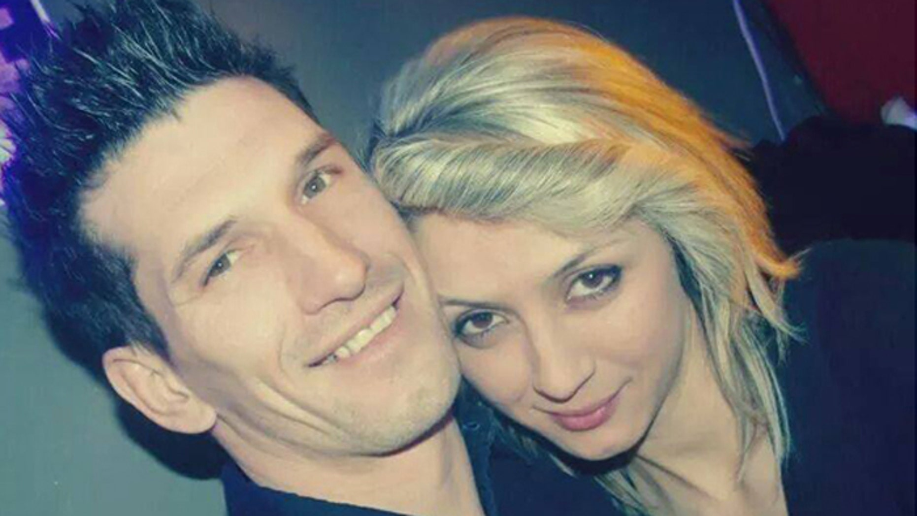 Zemir Begic died protecting fiancee Arijana Mujkanovic, when hammer-wielding teens allegedly attacked them on a city street. (Facebook)