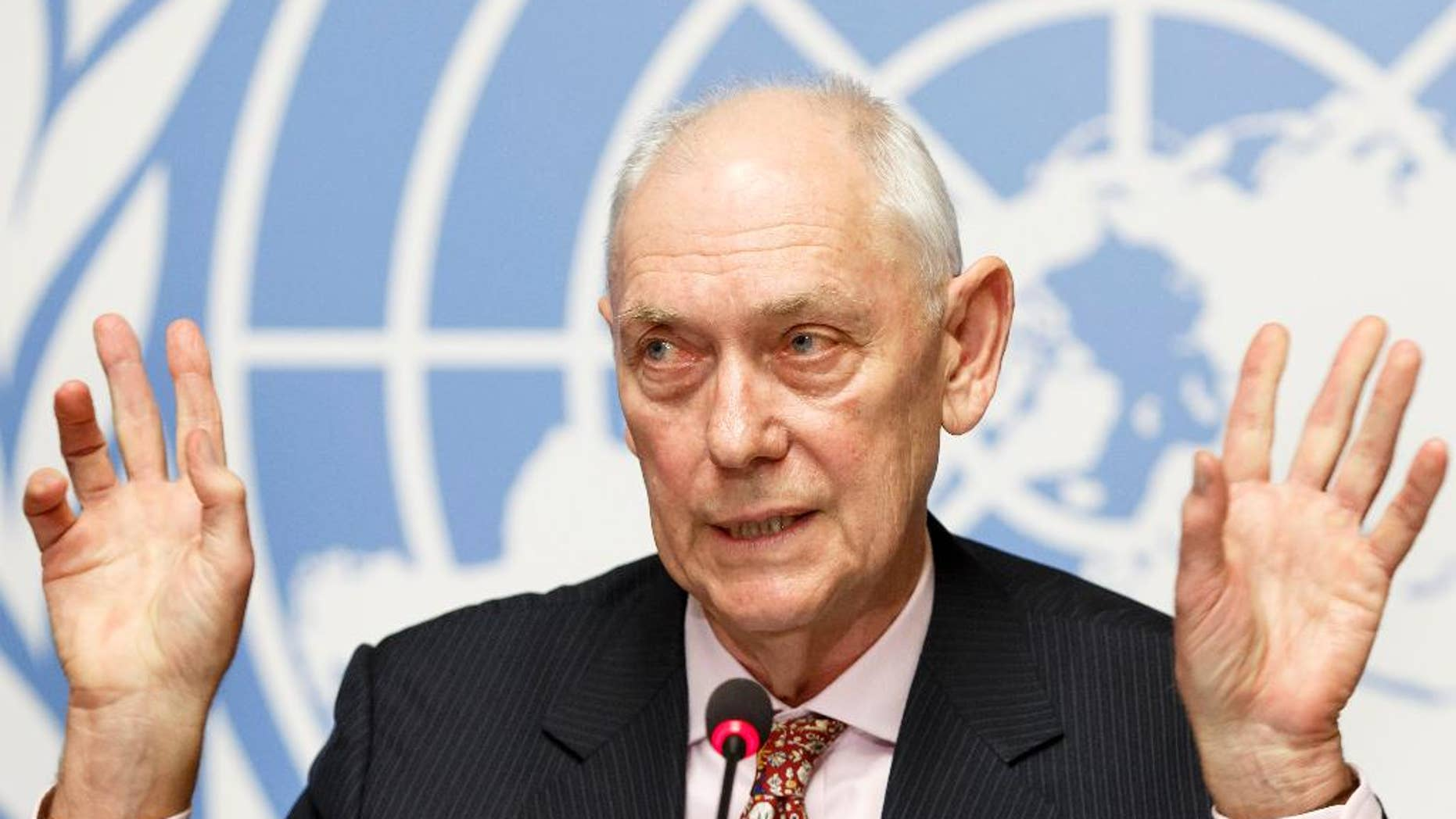 Mike Smith, Chairman of the Commission of Inquiry on human rights in Eritrea.