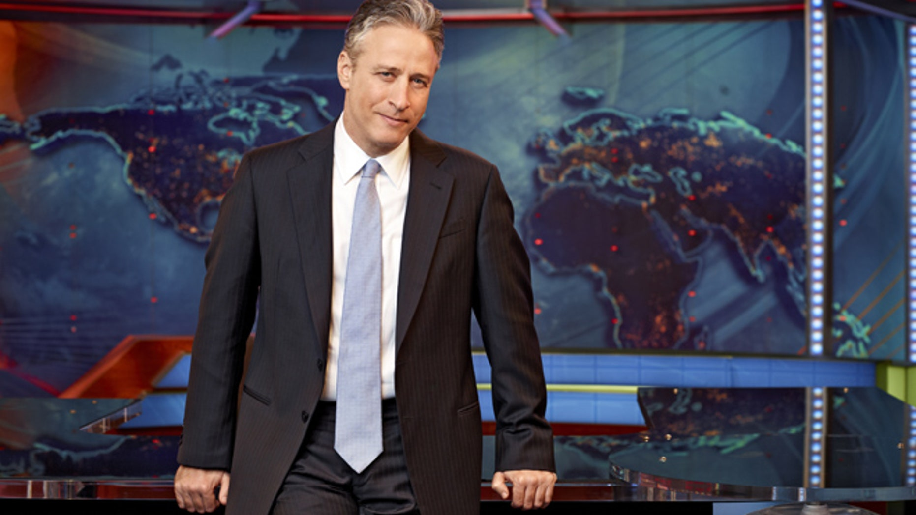 Jon Stewart rescued the pair of goats found on the NYC subway tracks.