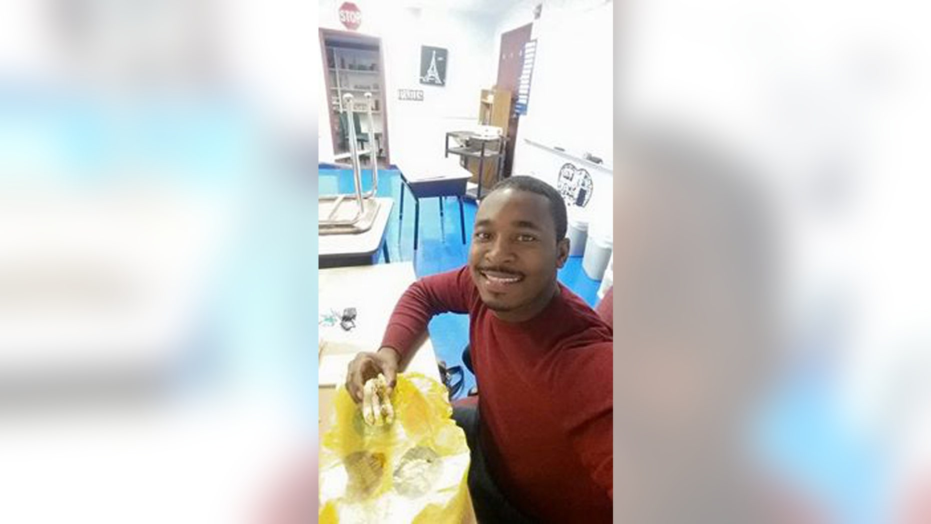 This photo provided by Beverly Smith shows her son, Alonzo Smith. Two security guards investigated in the death of the special education teacher who died after being taken into custody at a District of Columbia apartment building will not face charges, prosecutors said Thursday, Oct. 13, 2016. (Beverly Smith via AP)