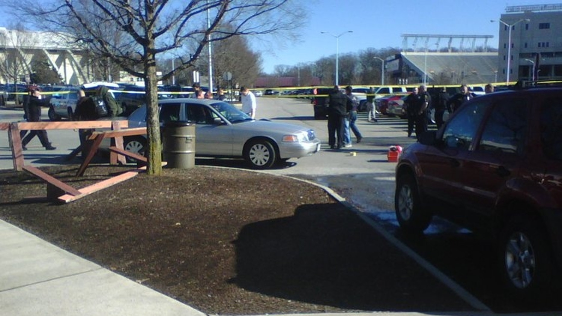 Dec. 8: Authorities respond to reports of shots fired in the parking lot of Virginia Tech's Cassell Coliseum.