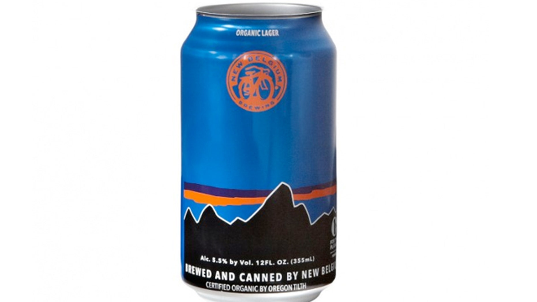 Patagonia is partnering with craft brewer New Belgium Brewing to create an organic larger.