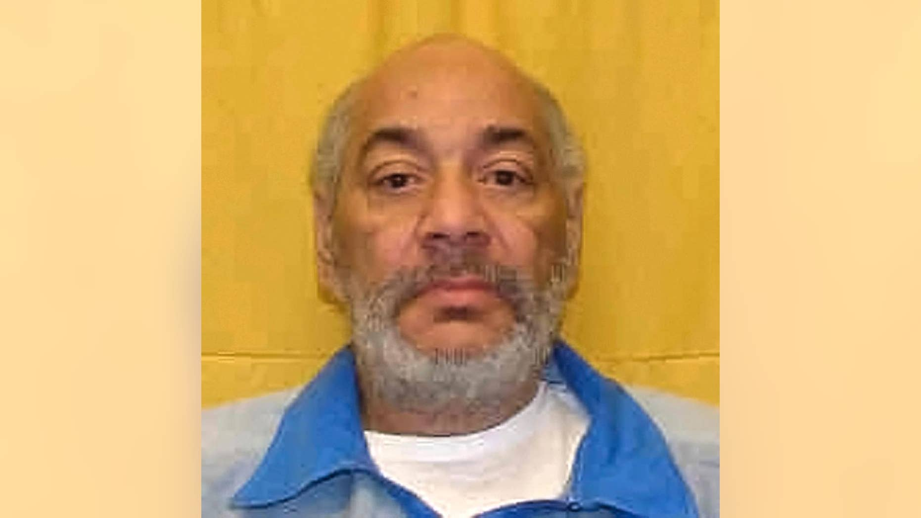 This undated photo provided by the Ohio Department of Rehabilitation and Correction shows David Johnson, who received an eight-year sentence for sexual battery. The Ross County, Ohio, Coroner's Office identified Johnson as the inmate fatally strangled Wednesday, Feb. 1, 2017, while riding in a transport van to the Ross County Correctional Institution with other prisoners and guards, after Johnson had been taken to Columbus, Ohio, for medical treatment, according to Ross County Prosecutor Matthew Schmidt. (Ohio Department of Rehabilitation and Correction via AP)