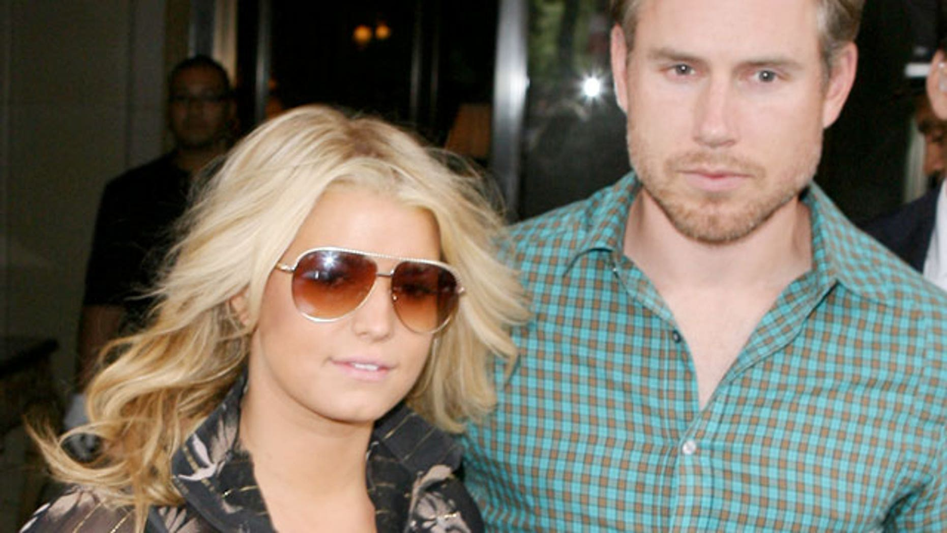 Jessica Simpson and Eric Johnson are expecting their first child together.