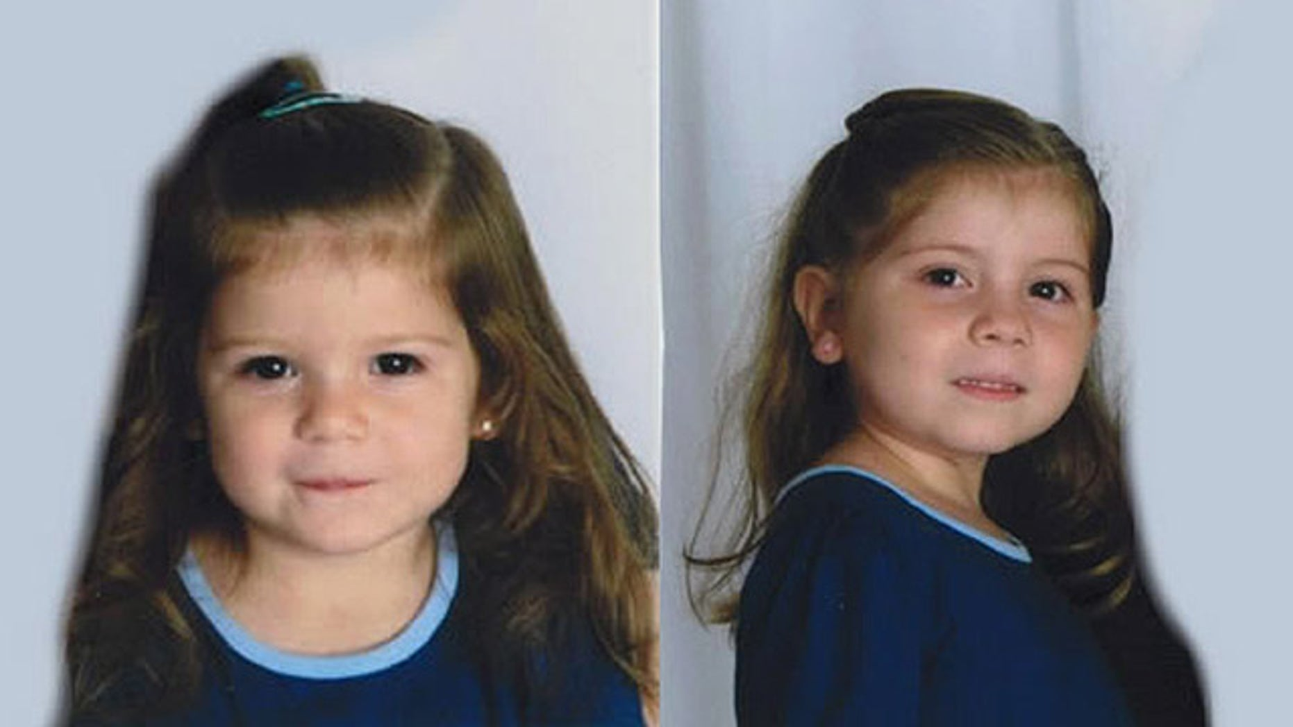 Police are searching for 6-year-old Natalya Litwin, right, and 2-year-old Katelyn Litwin, left, after their father, 34-year-old Stephen Litwin, allegedly abducted them from their home California home (Los Angeles County Sheriff's Department).