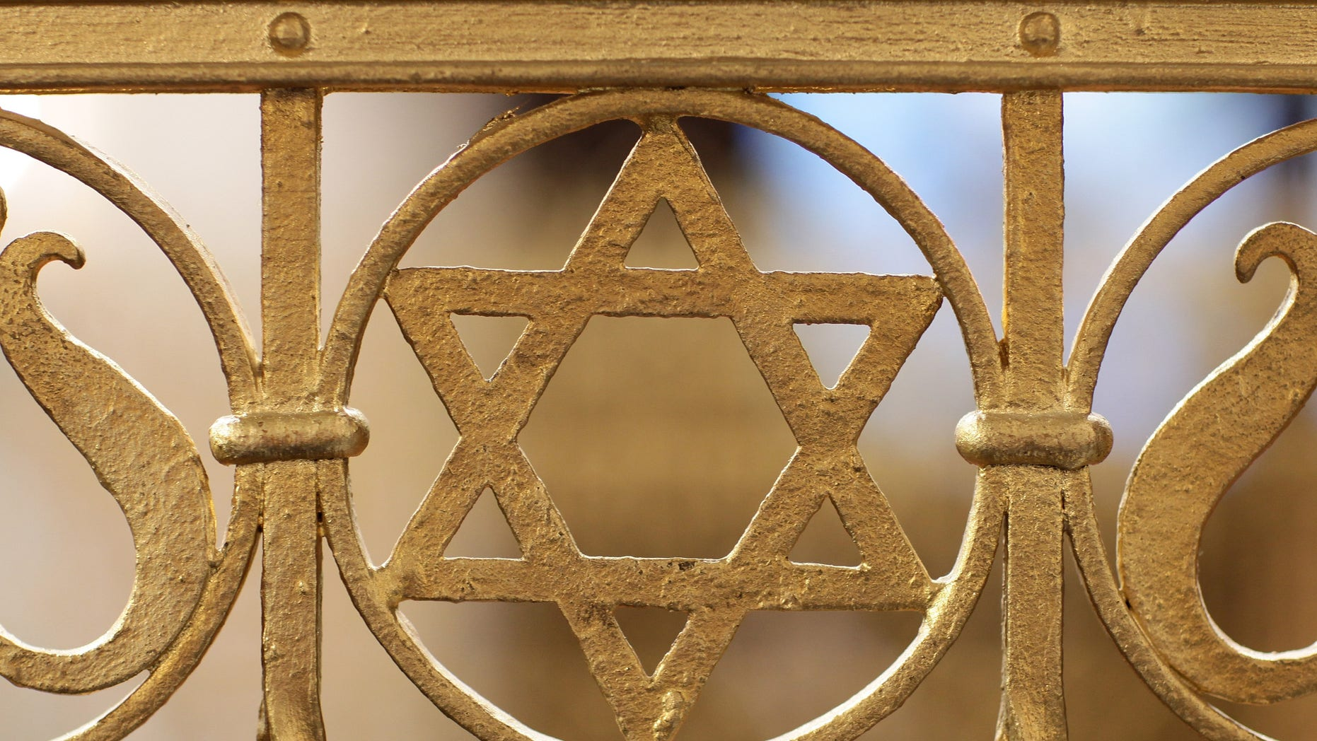LEIPZIG, GERMANY - AUGUST 30:  A Star of David is visible among the ornamentation at the Brodyer Synagogue at the ordination of new Rabbis Shlomo Afanasev and Moshe Baumel on August 30, 2010 in Leipzig, Germany. Though both Afanasev and Baumel were born in the former Soviet Union, they grew up in Germany and are among a growing number of German-raised rabbis graduating from the Ronald Lauder-supported Rabbinical Seminary in Berlin.  (Photo by Sean Gallup/Getty Images)