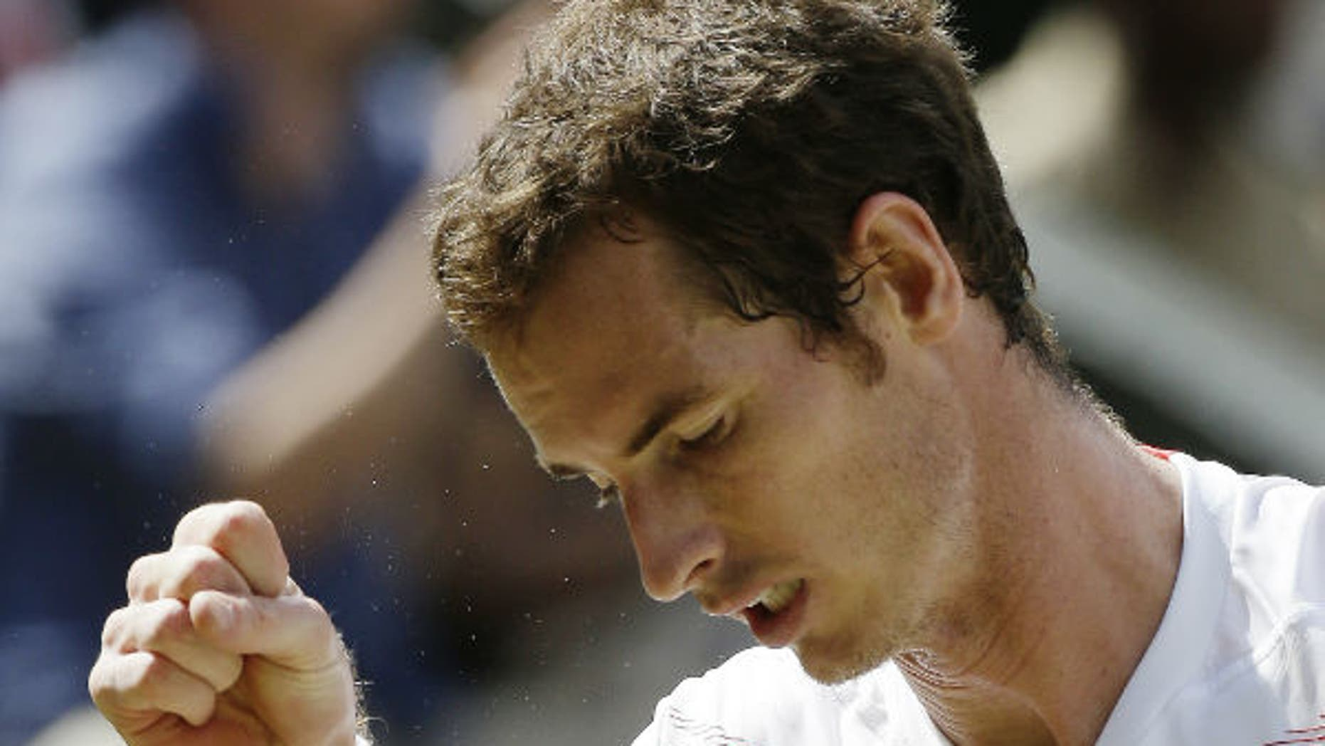 This undated photo shows Andy Murray.