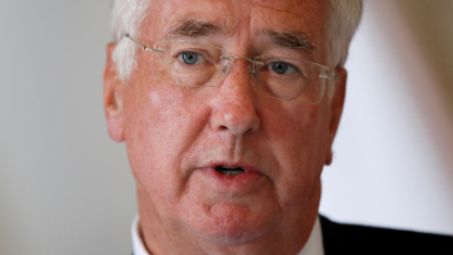 British defense secretary Michael Fallon resigned Wednesday after being accused of inappropriately touching a journalist in 2002.