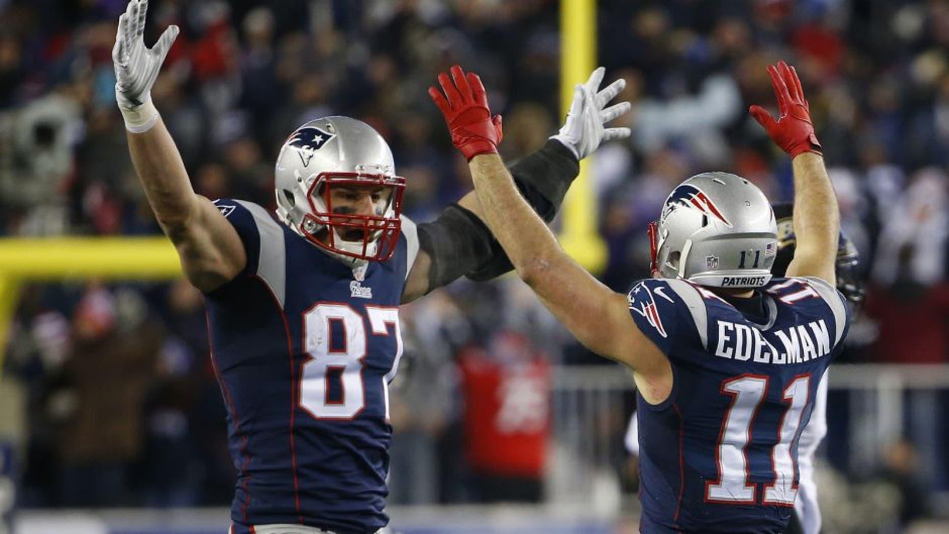 Rob Gronkowski Julian Edelman Return To Patriots Practice