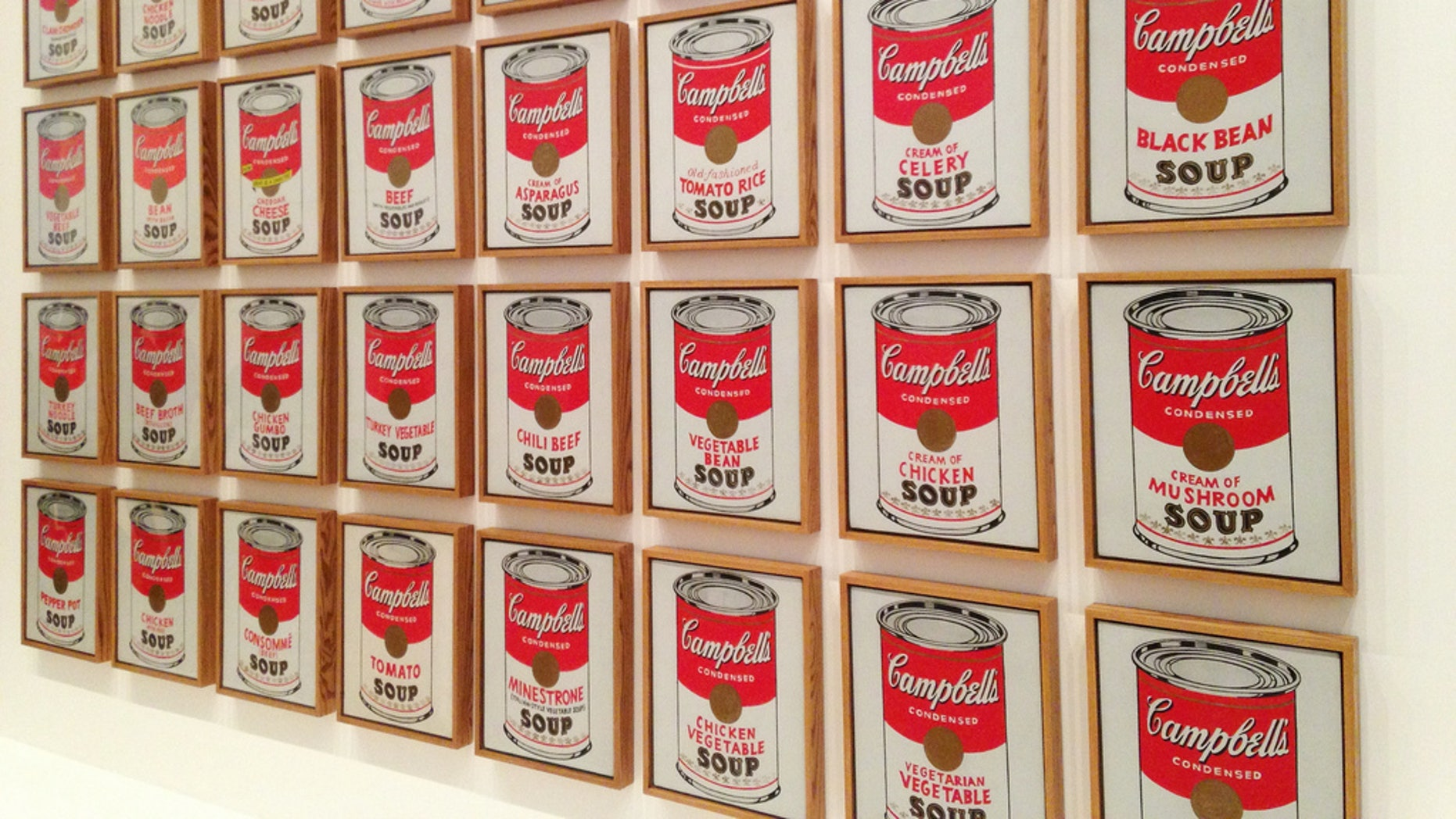 Several pieces of artwork were stolen from a Missouri museum, including Andy Warhol prints of soup cans.
