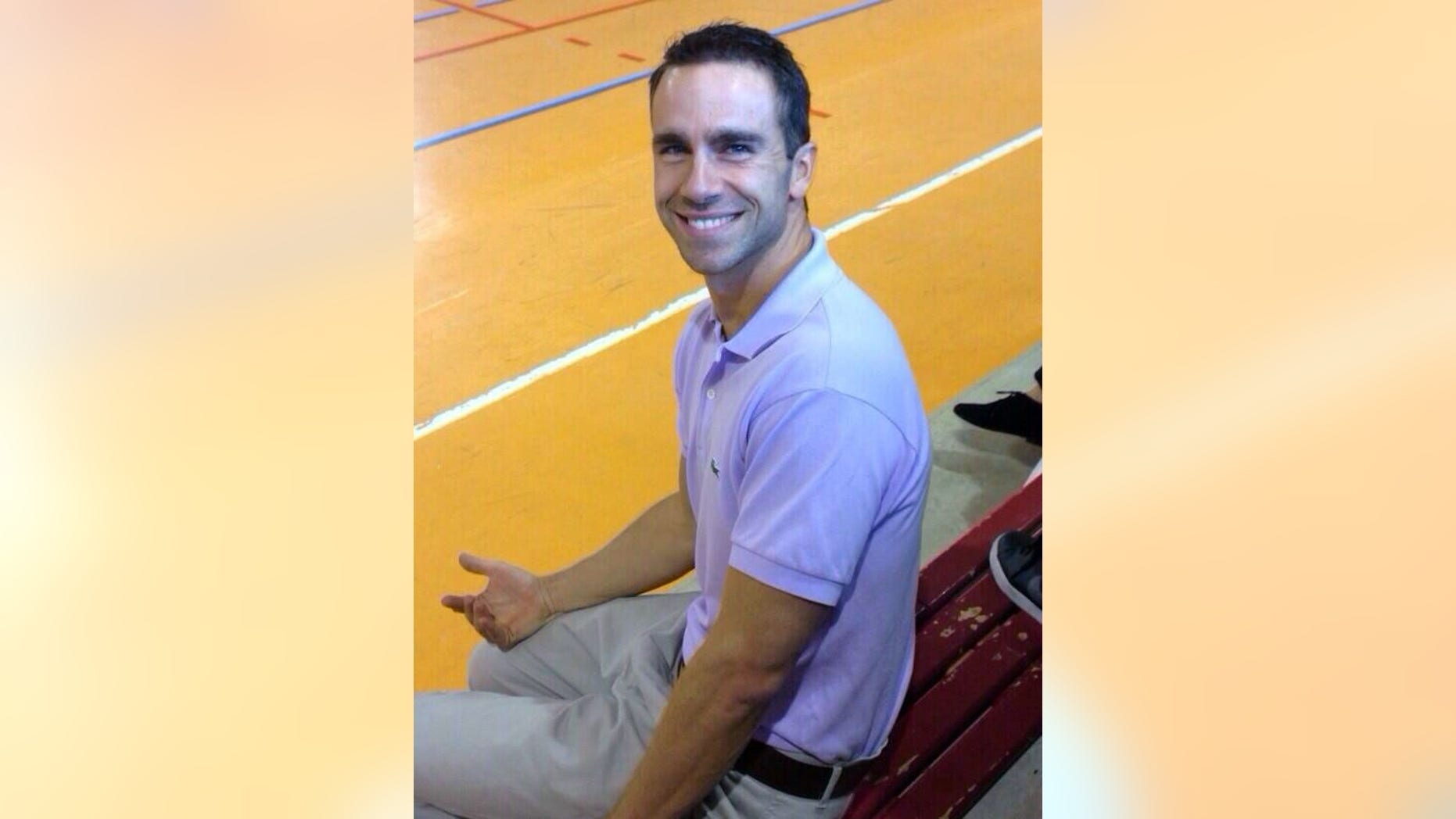 This undated photo provided by Omaima ElFaitori shows Ronald Thomas Smith II. Smith, an American chemistry teacher, was shot to death as he was jogging in Benghazi on Thursday, Dec. 5, 2013. (AP Photo/Omaima ElFaitori)