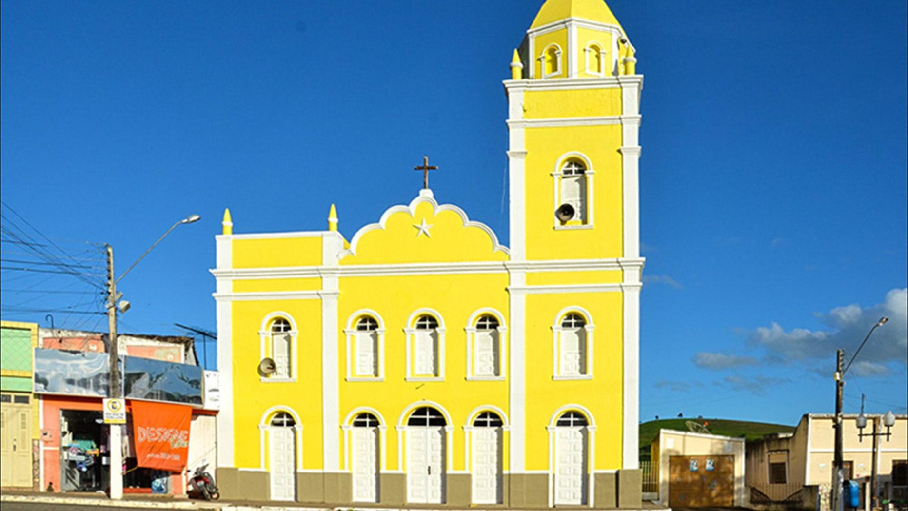 Nuestra Sra. da Conceição Church in Limoeiro de Anadia, Brazil.