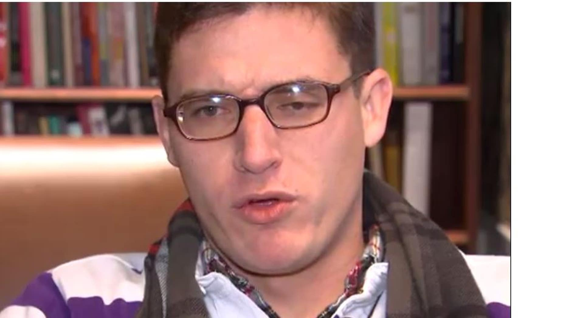 """Gregory Conte was fired from his job as a substitute teacher in Maryland after students discovered his """"alt-right"""" views."""
