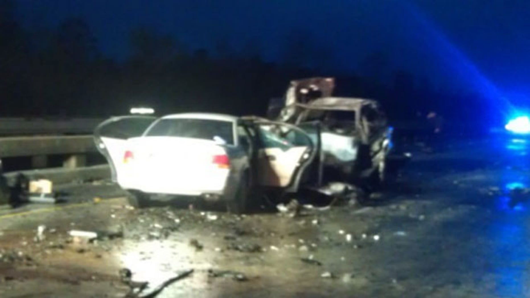 Five people were killed in a head-on collision on the I-10 near La Place, La.