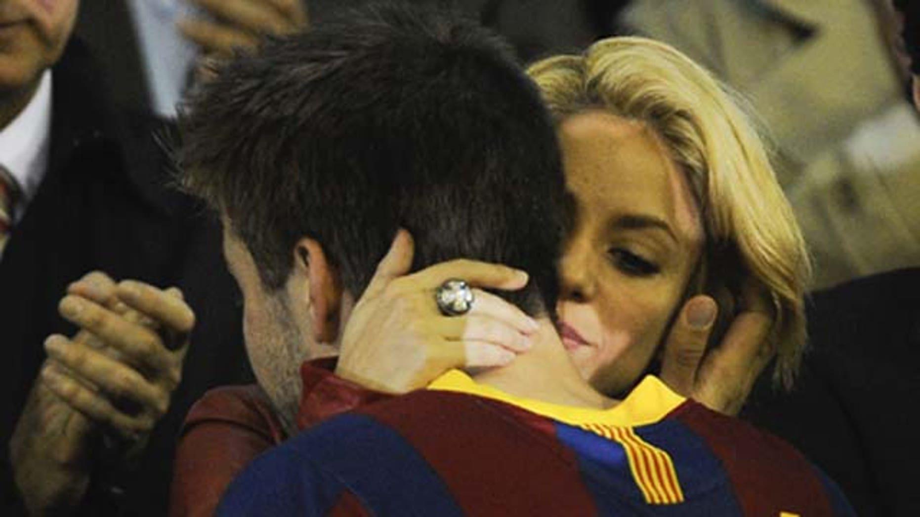 > at Estadio Mestalla on April 20, 2011 in Valencia, Spain.
