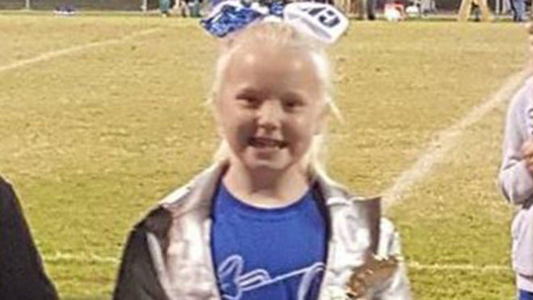 Gabriella Doolin,  7. of Allen County, Kentucky. (WBKO-TV courtesy of Doolin family)