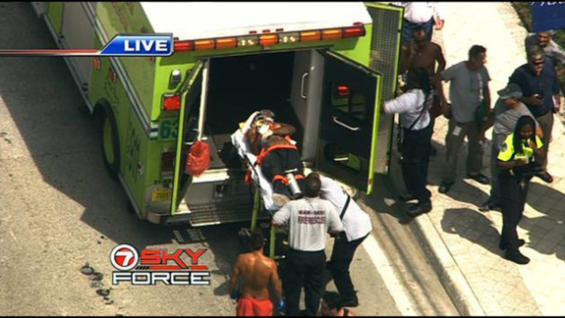 4 people were injured in possible explosion in Sunny Isles Beach, Florida.