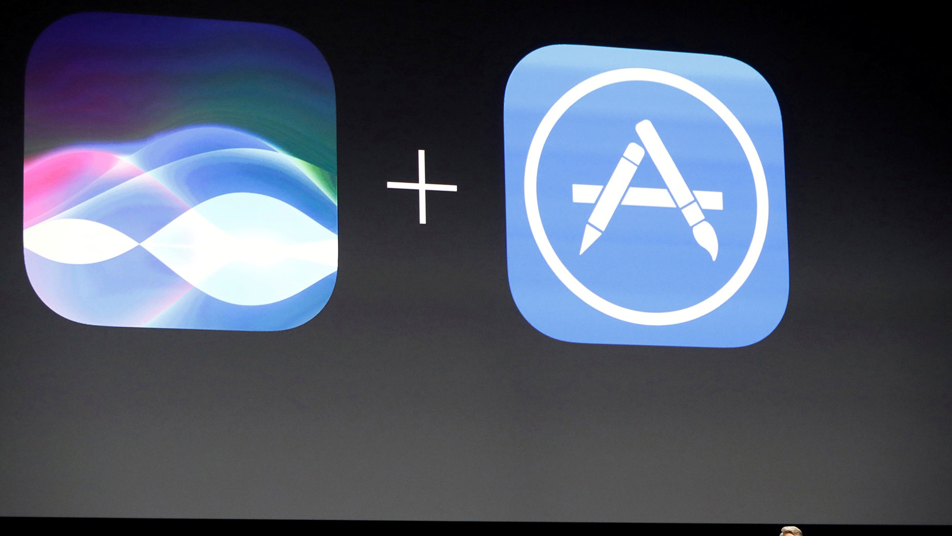 File photo: Craig Federighi, Senior Vice President of Software Engineering for Apple Inc., announces that the company's Siri assistant for iOS will be opened for developers at the company's World Wide Developers Conference in San Francisco, California, U.S. June 13, 2016. REUTERS/Stephen Lam