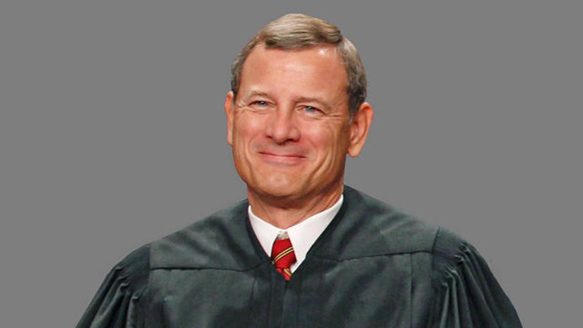 Chief Justice John Roberts.