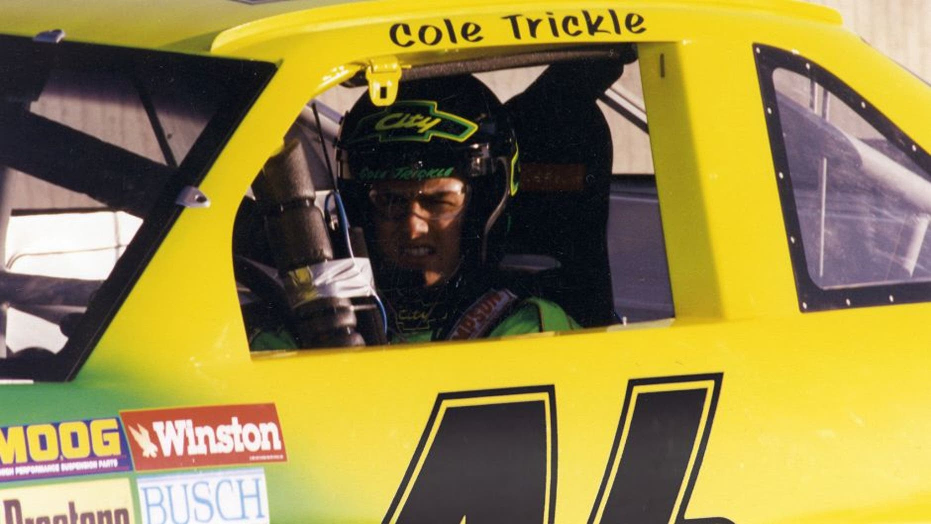 "1989: The ""Days of Thunder"" movie began filming late in 1989, with it's star Tom Cruise as fictional NASCAR driver Cole Trickle. (Photo by ISC Archives via Getty Images)"