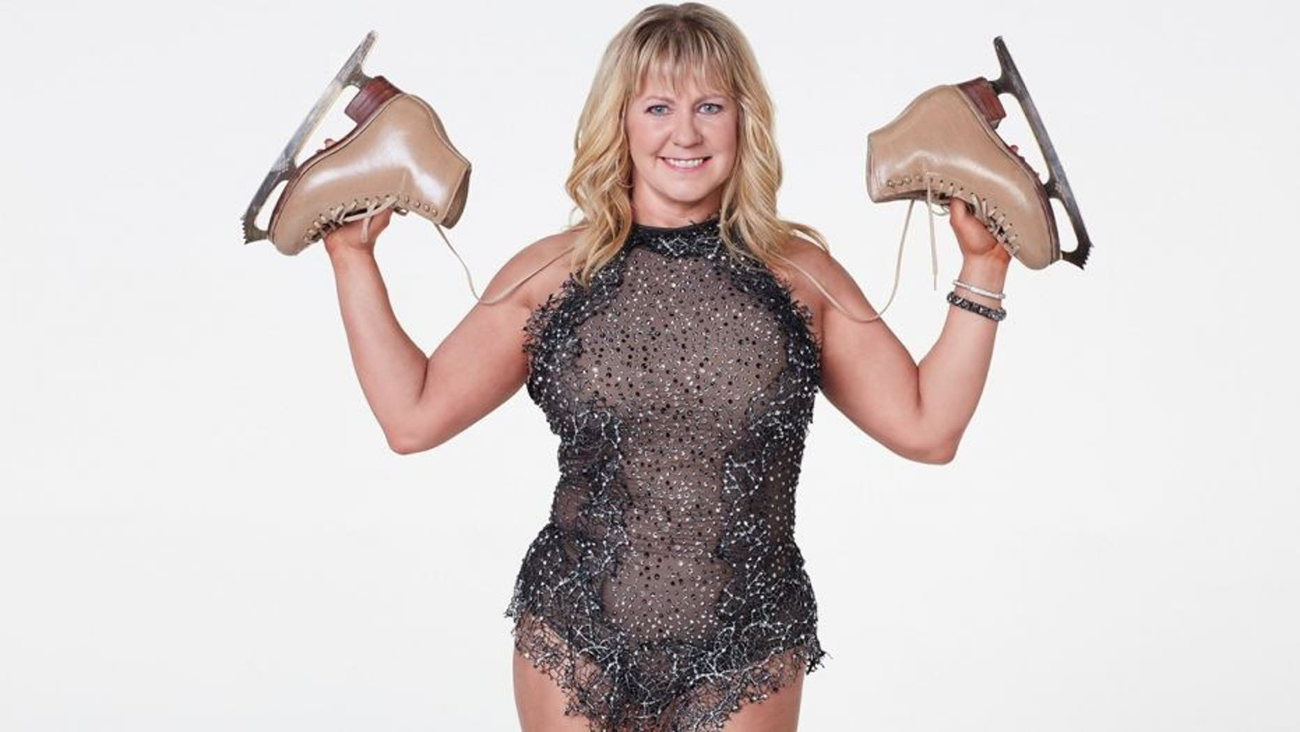 """Tonya Harding competes on """"Dancing with the Stars: Athletes."""""""