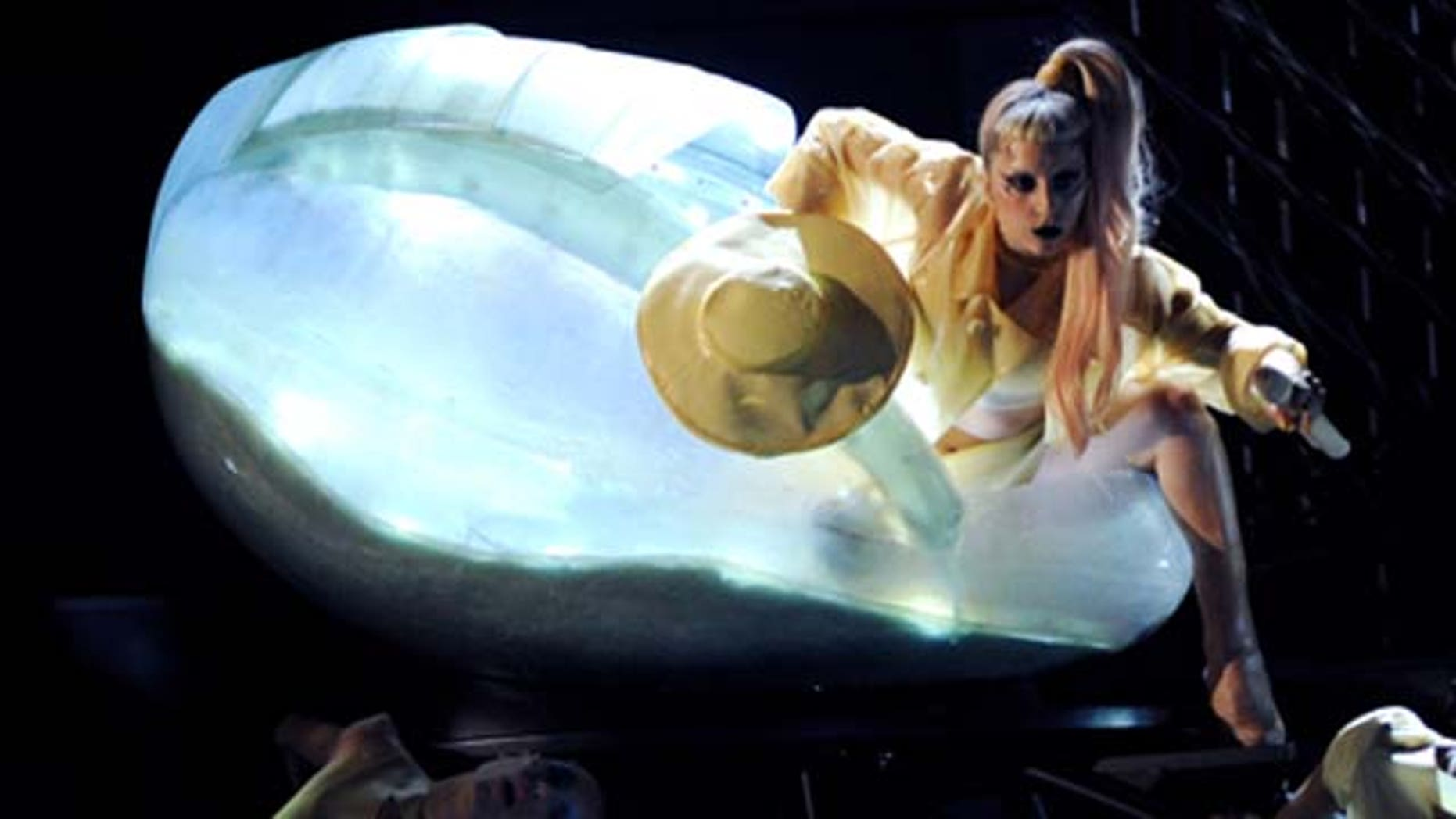 onstage during the 53rd Annual GRAMMY Awards held at Staples Center on February 13, 2011 in Los Angeles, California.