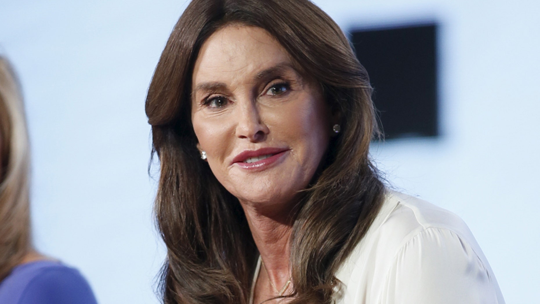 """Cast member Caitlyn Jenner participates in a panel for the E! Entertainment Television series """"I Am Cait"""" during the Television Critics Association (TCA) Cable Winter Press Tour in Pasadena, California, January 14, 2016."""
