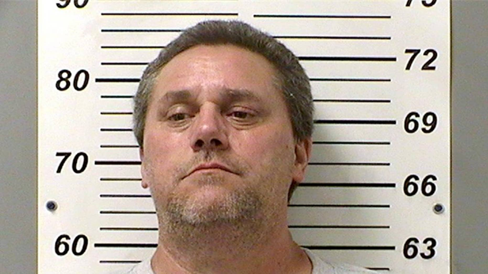 FILE - This undated file booking photo provided by the Fulton County Sheriff's Department shows James Worley. Worley, who spent three years in prison after the 1990 abduction of a female cyclist, was arrested July 22, 2016, three days after University of Toledo student Sierah Joughin disappeared and the same day her body was found in a northwest Ohio cornfield. Worley was charged with aggravated murder on July 26, 2016, and a spokeswoman for the Ohio Attorney General's Office said Wednesday, Aug. 3, 2016, that no human remains were found during a late July search of Worley's property outside Delta, Ohio. (Fulton County Sheriff's Department via The Blade via AP, File)