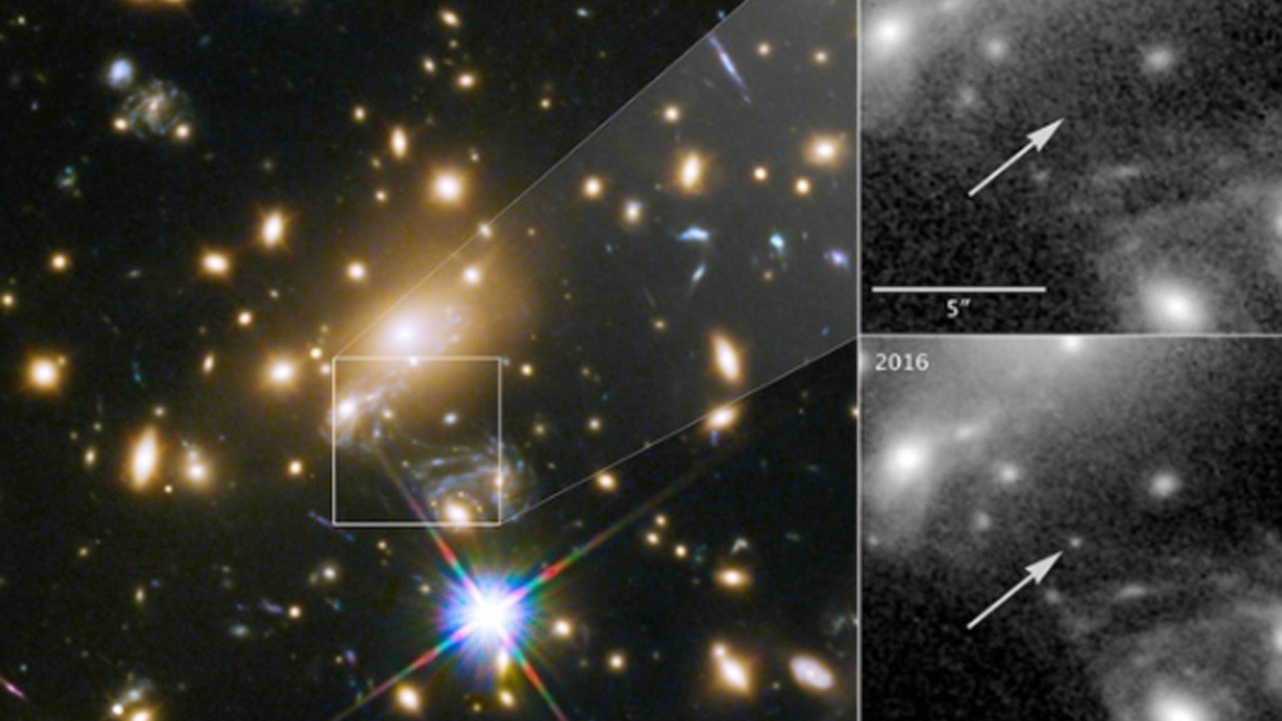 Icarus is the farthest individual star ever seen, NASA says.