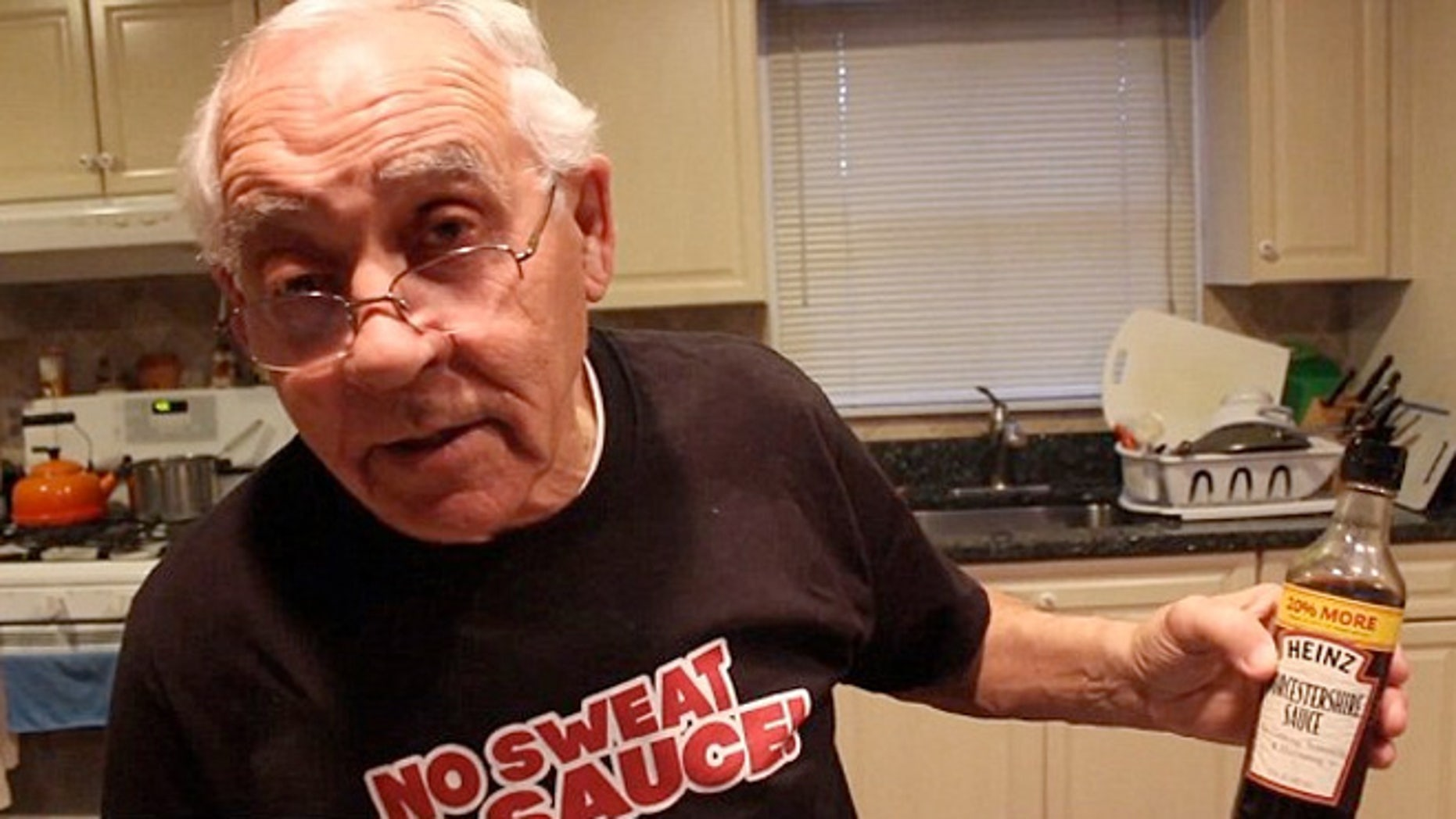 One Italian-American chefs has become a viral sensation after trying to pronounce the sauce.