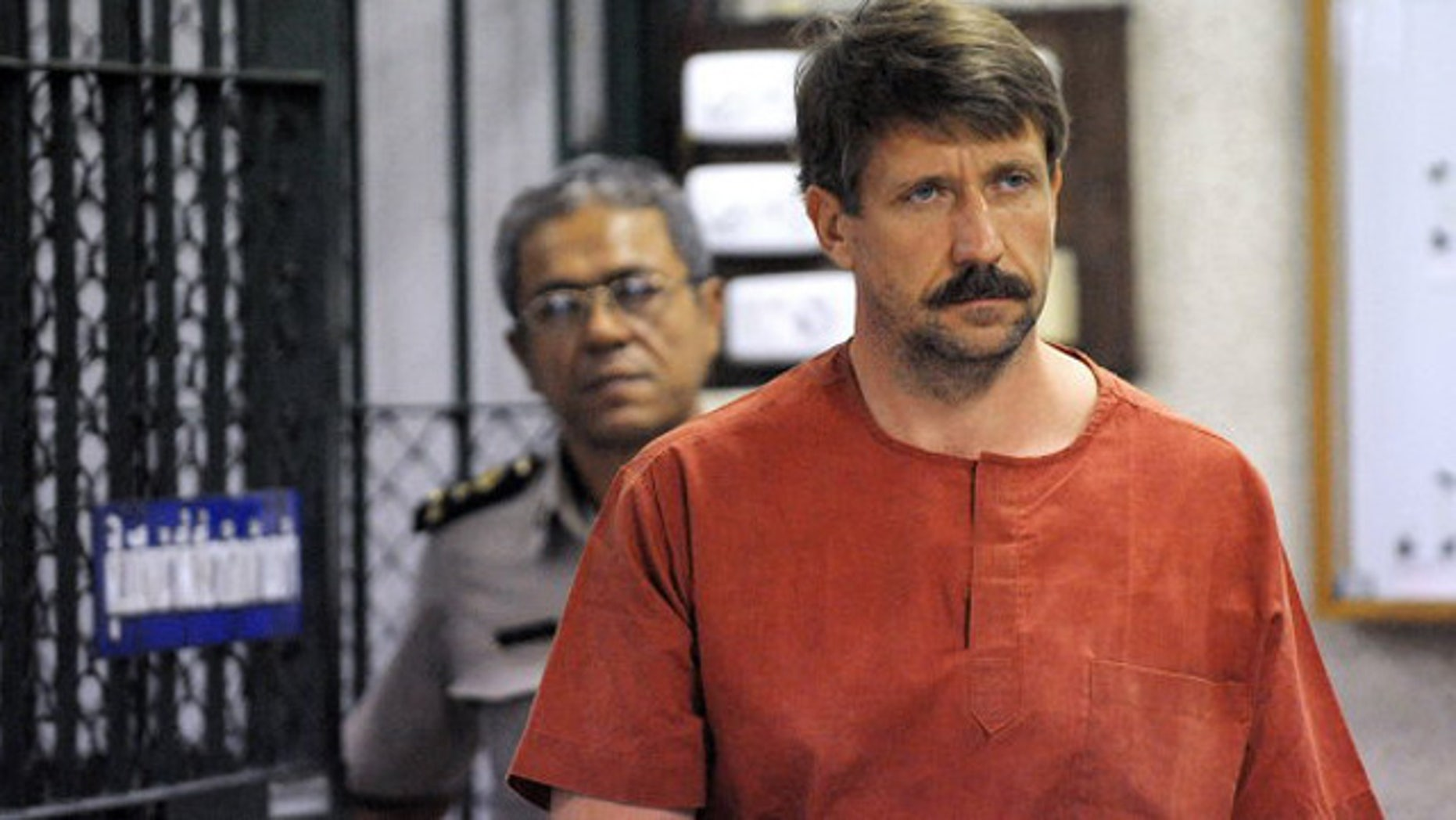 'Merchant of Death' Viktor Bout.