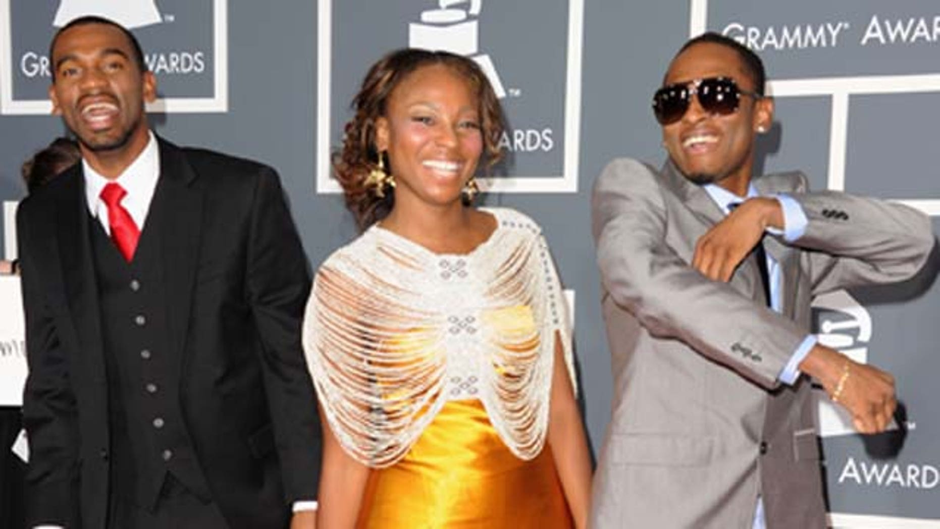 Feb. 13, 2011: Choc Quib Town arrives at The 53rd Annual Grammy Awards held at Staples Center on February 13, 2011 in Los Angeles, Calif.