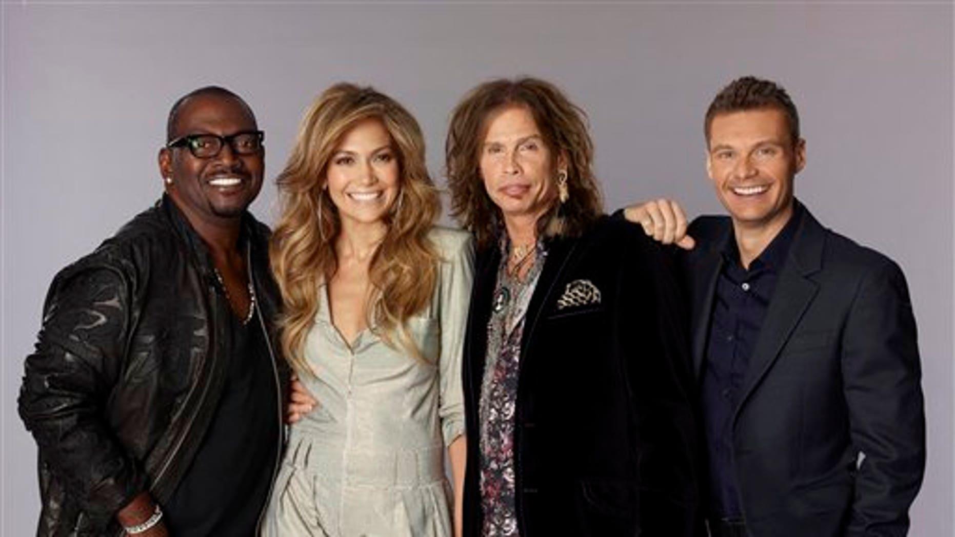 The Season 10 Judges of 'American Idol.' (AP)