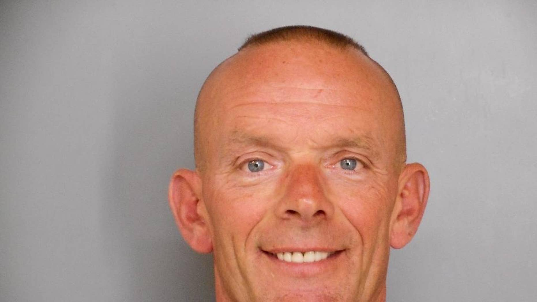 """FILE -  This undated file photo provided by the Fox Lake Police Department shows Lt. Charles Joseph Gliniewicz, was shot and died Tuesday, Sept. 1, 2015, in Fox Lake, Ill. Coroner Dr. Thomas Rudd said Wednesday Sept. 9, 2015 that Gliniewicz, who died last week suffered a """"single devastating"""" gunshot wound, but he can't rule whether it was a homicide, suicide or accident. (Fox Lake Police Department photo via AP, File)"""