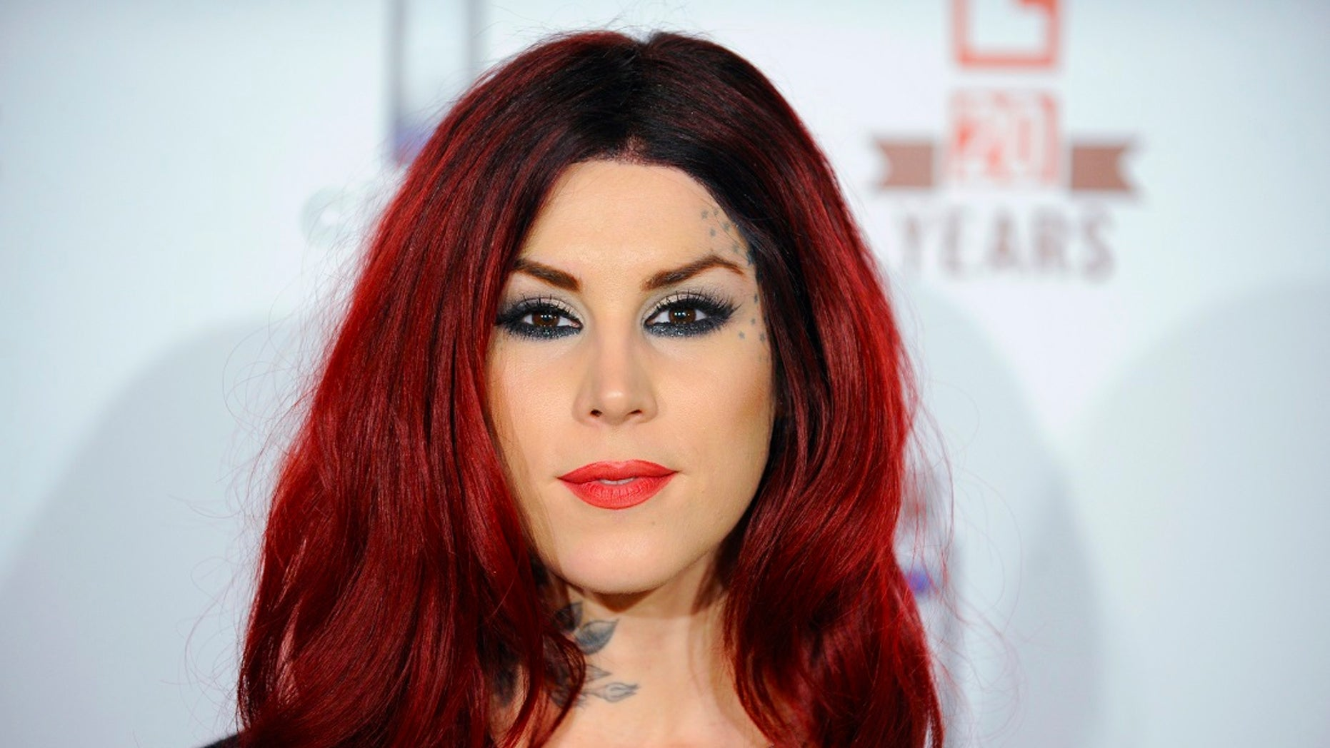 A Kansas woman claims she won a contest sponsored by a company created by the reality TV star Kat Von D (pictured here) -- but later was disqualified over a post on her Instagram account which supported then-presidential candidate Donald Trump.