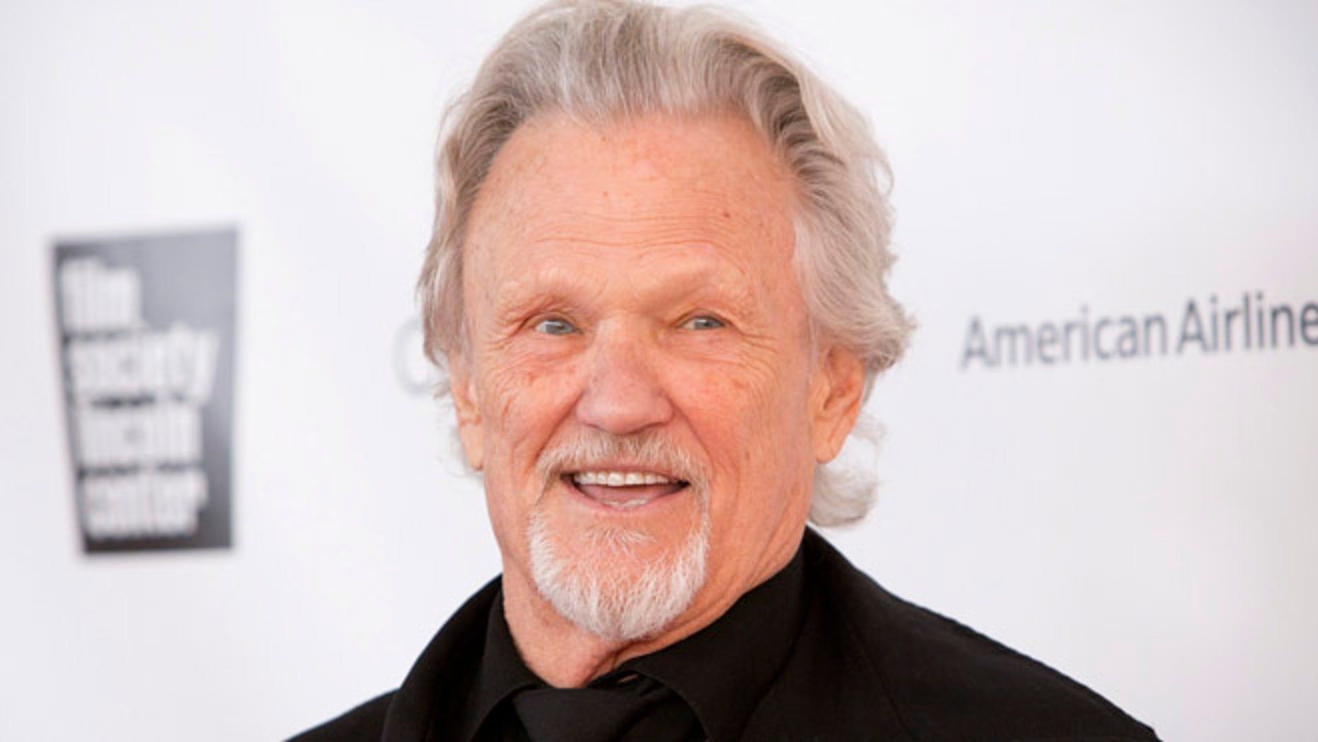Kris Kristofferson attends the 40th Anniversary Chaplin Award Gala at Avery Fisher Hall at Lincoln Center for the Performing Arts in New York April 22, 2013. REUTERS/Andrew Kelly (UNITED STATES - Tags: ENTERTAINMENT) - RTXYWB5