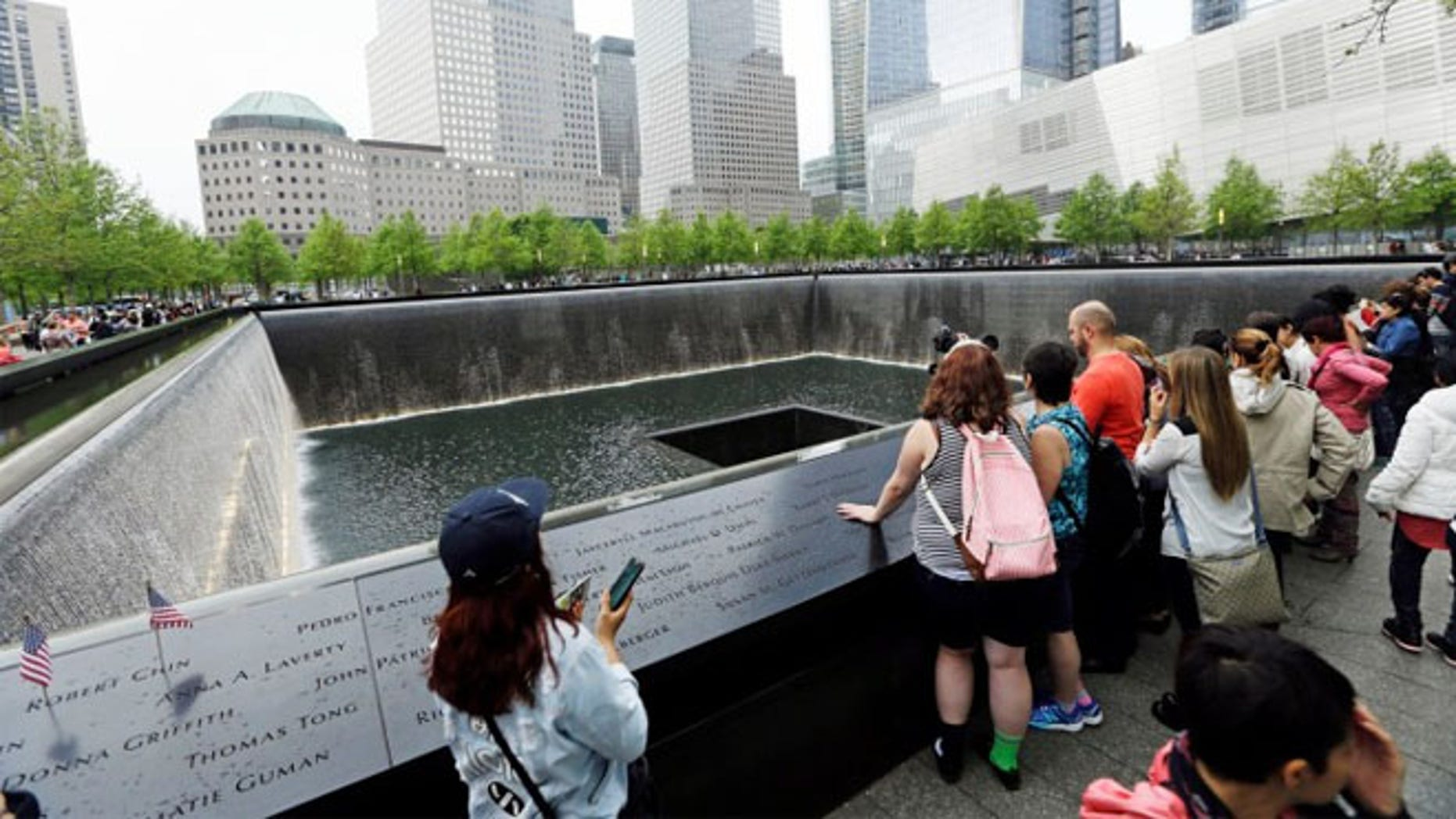 Elizabeth Anne Enderli said she had no idea her Texas concealed-carry permit was null in New York when she visited the memorial.