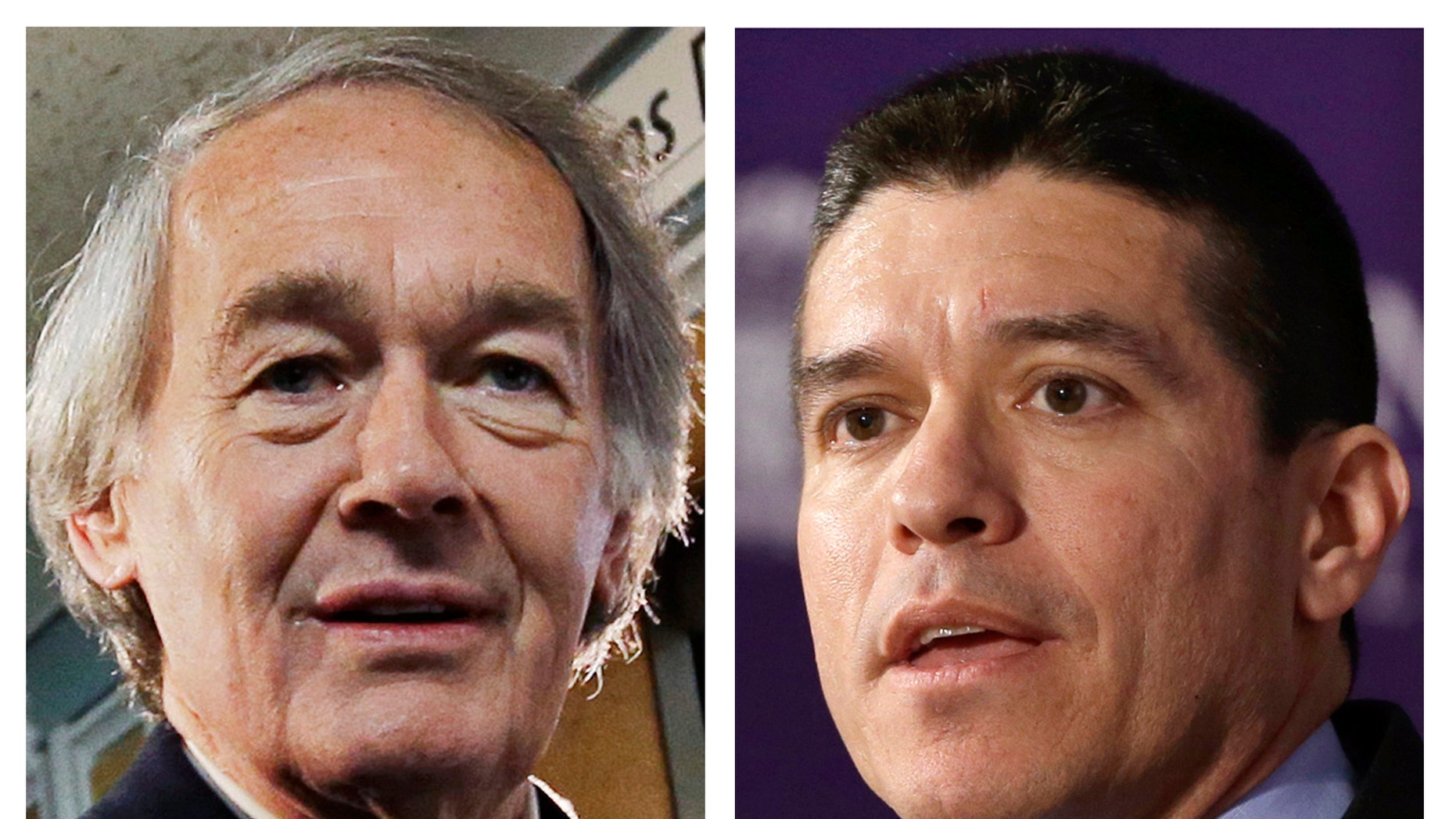 Democrat U.S. Rep. Ed Markey, left, and Republican Gabriel Gomez, right, are competing in the U.S. Senate special election to fill the seat vacated when John Kerry was appointed as Secretary of State.