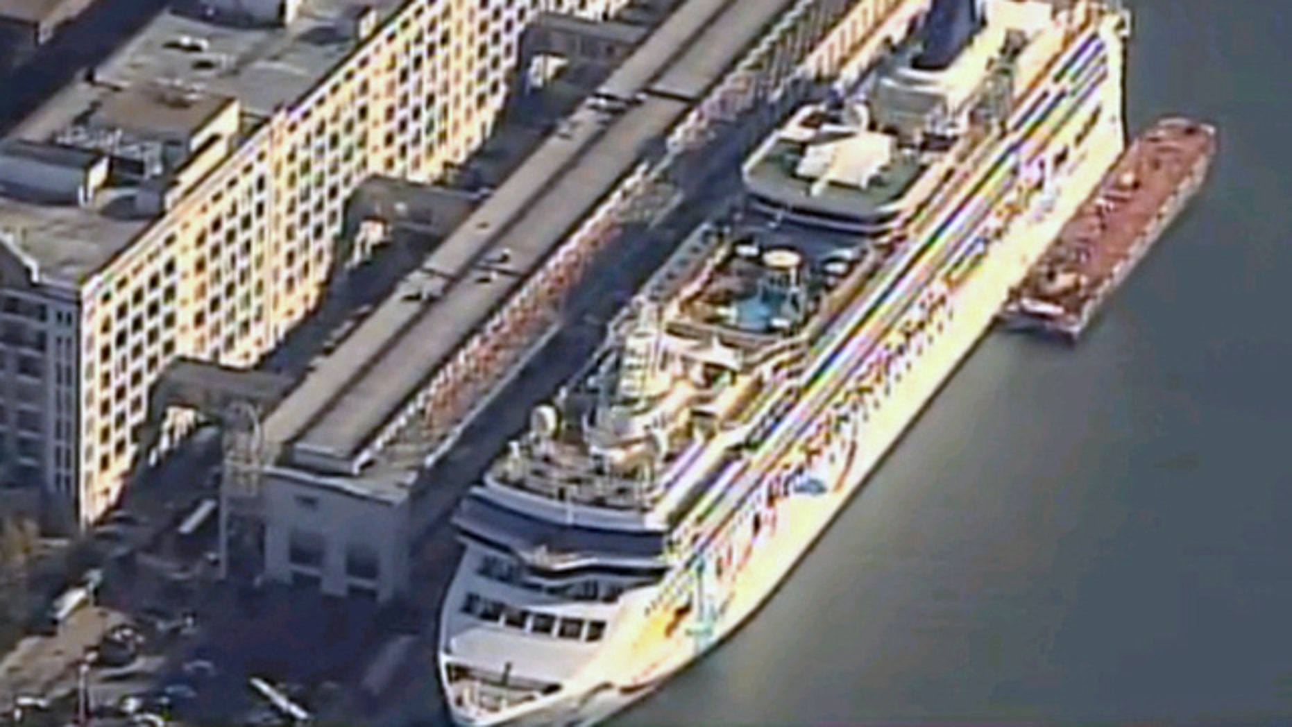 Oct. 28, 2011: Norwegian Cruise Line ship docks in Boston after two people are found dead on board.